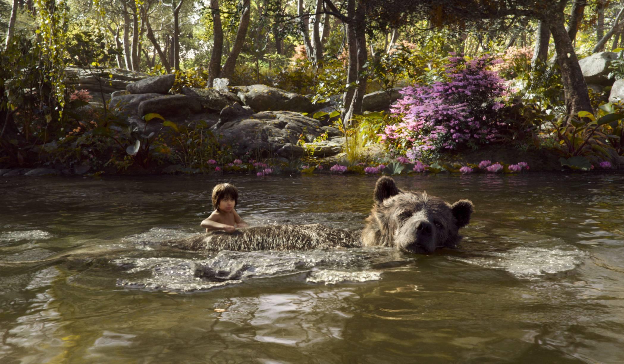 クマとモーグリ