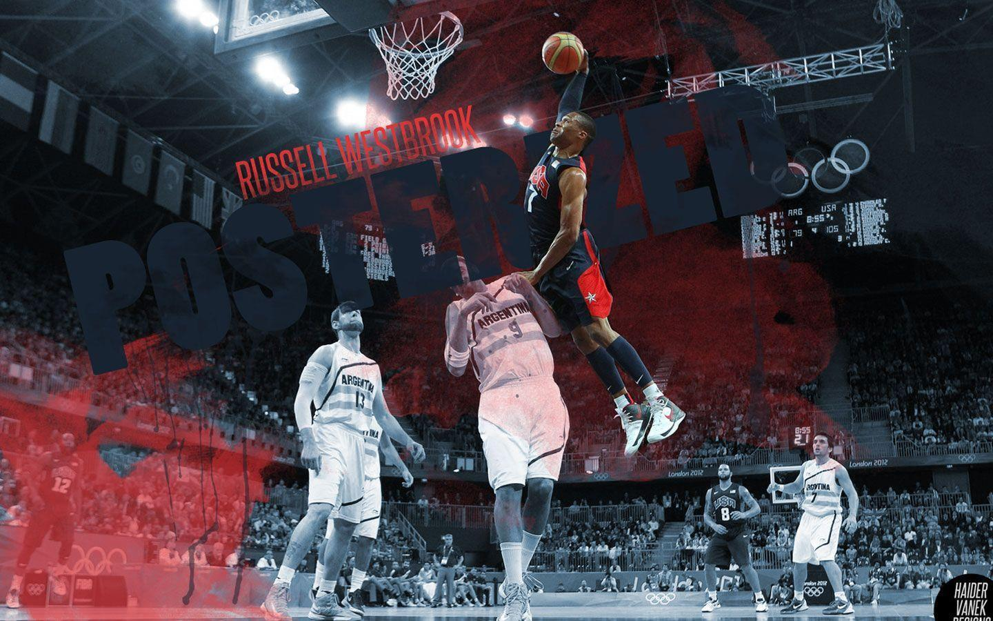 Russell westbrook wallpaper iphone wallpapersafari - Russell Westbrook Dunk Wallpaper Wallpapersafari