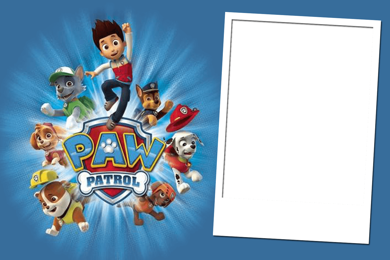 It is an image of Shocking Paw Patrol Borders