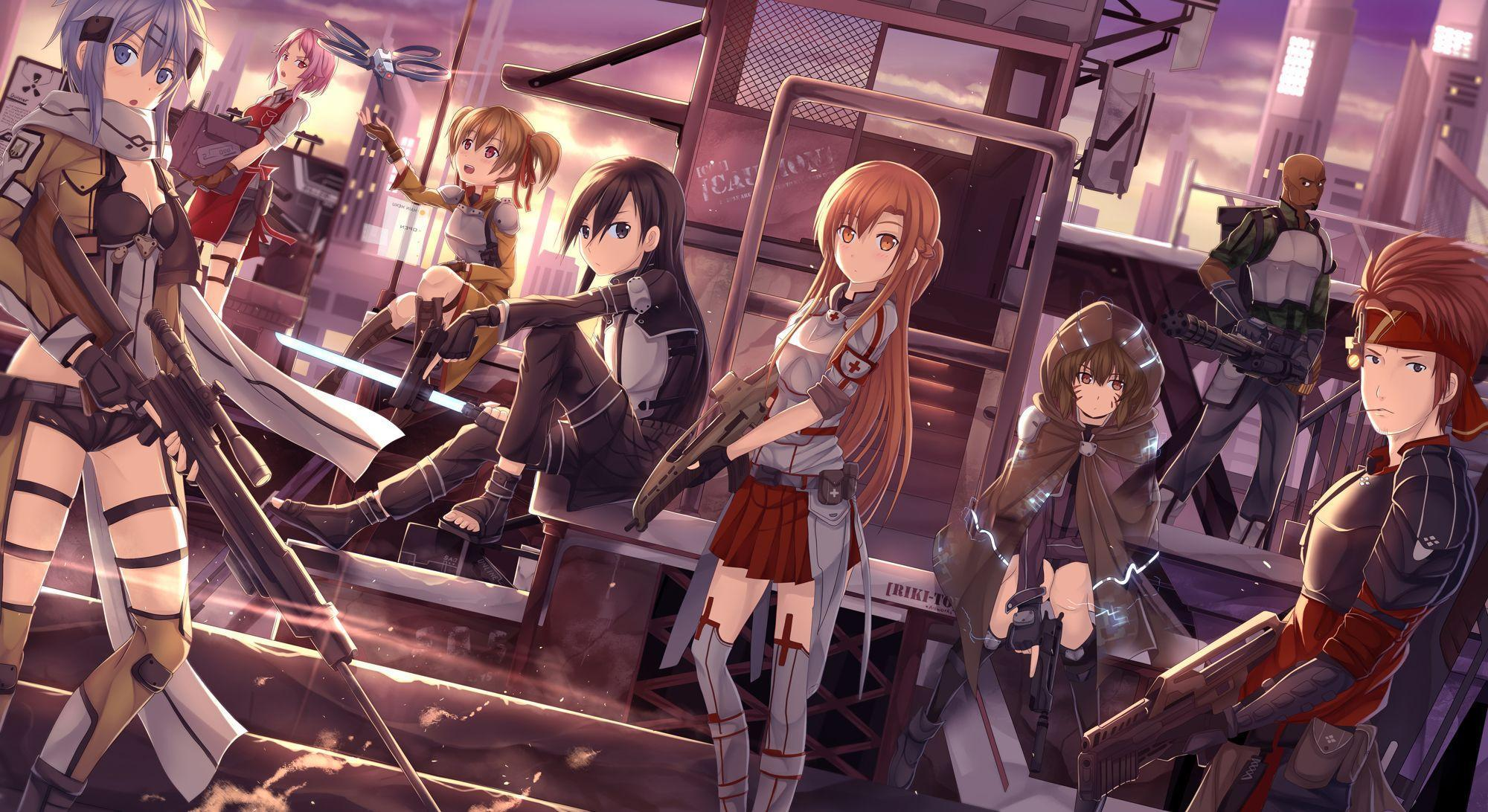359 Sinon (Sword Art Online) HD Wallpapers | Background Images ...