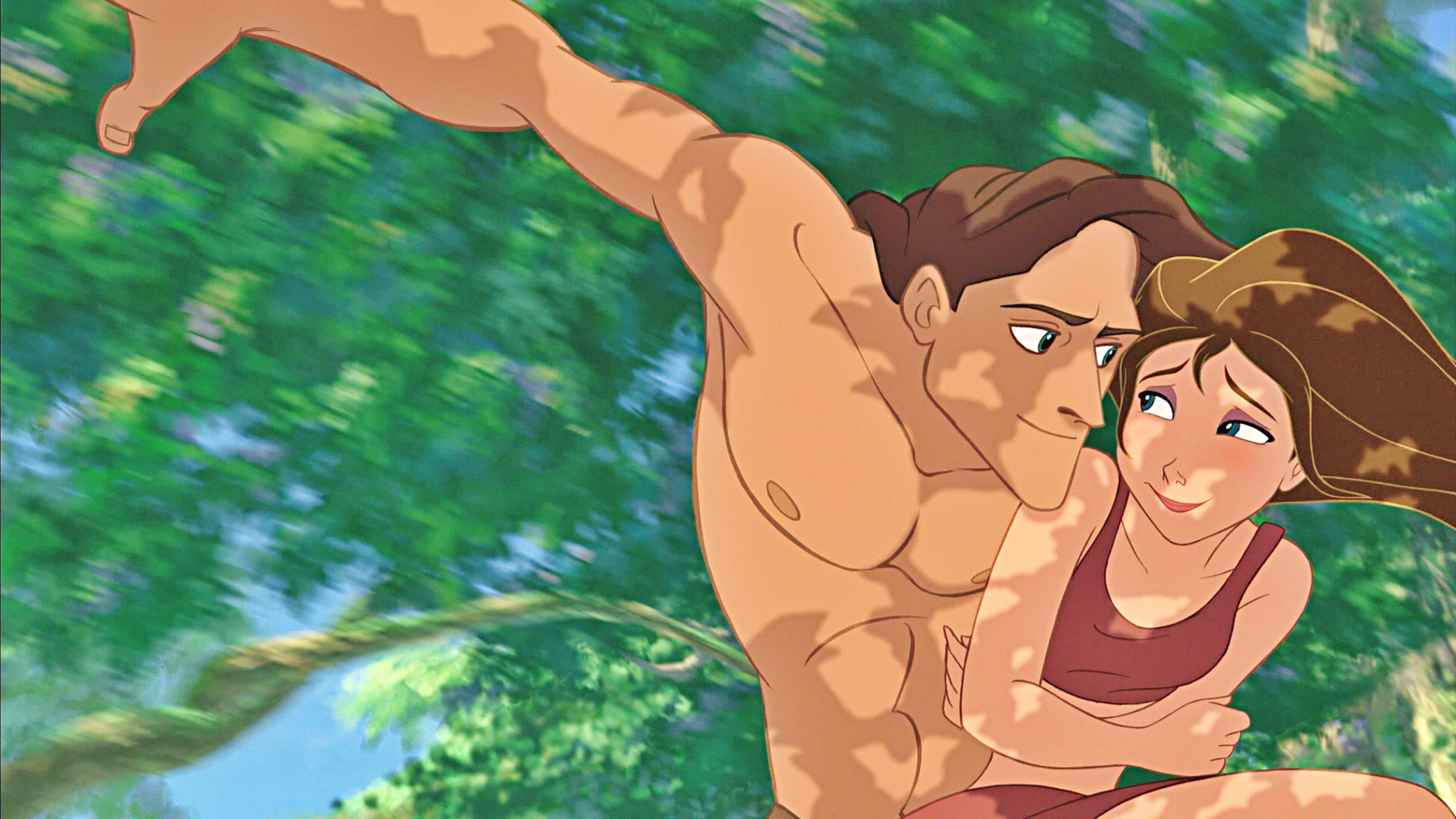Порно на мультфильм тарзан