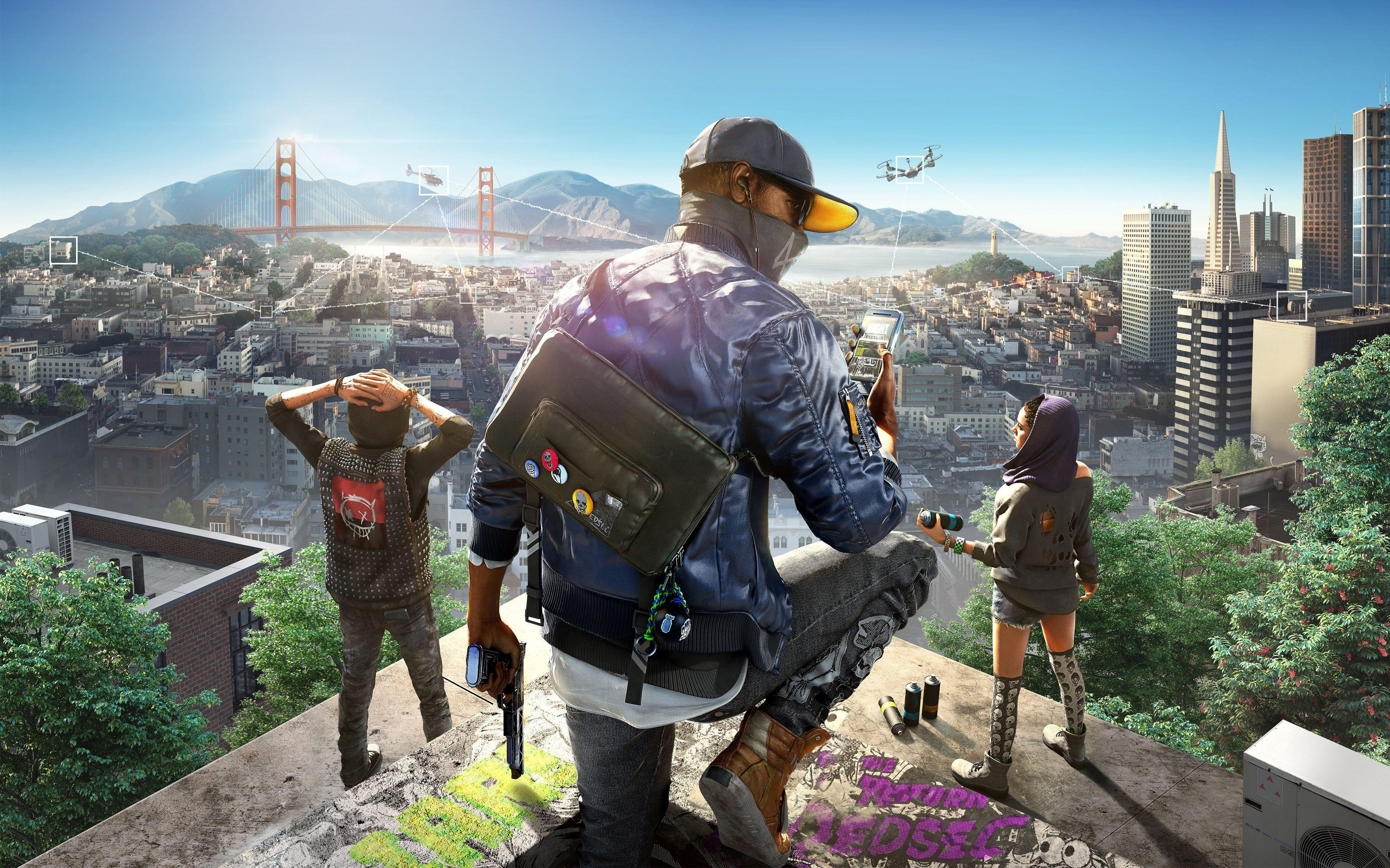 Watch Dogs 2 Wallpapers Wallpaper Cave