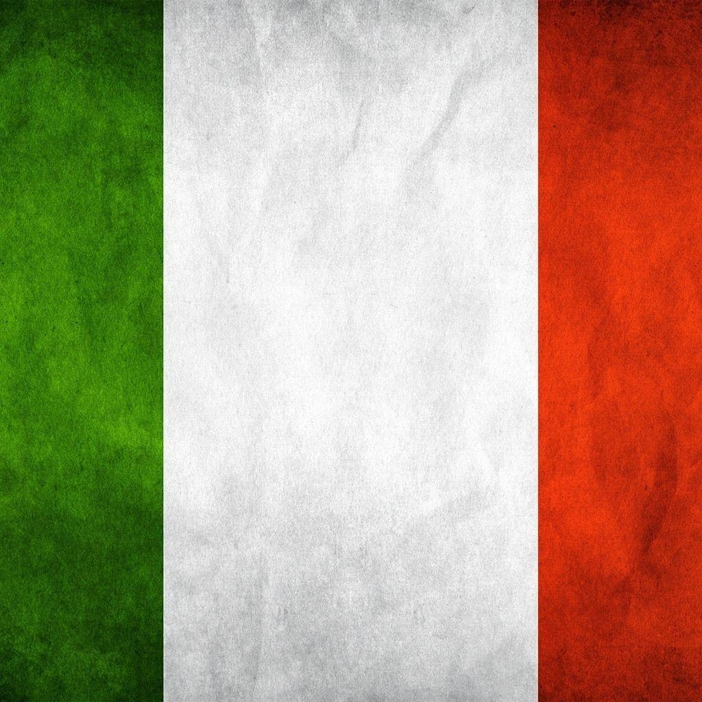 Download Wallpapers 1024x1024 Italy, Flag, Symbol, Backgrounds