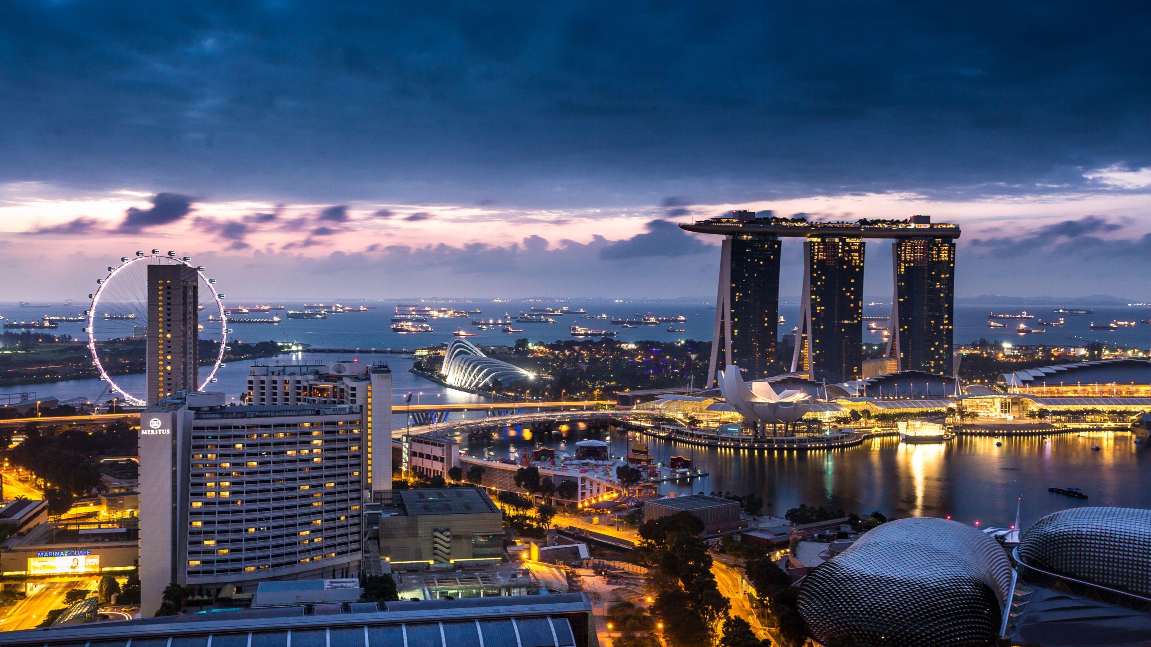 Kết quả hình ảnh cho singapore wallpaper 4k