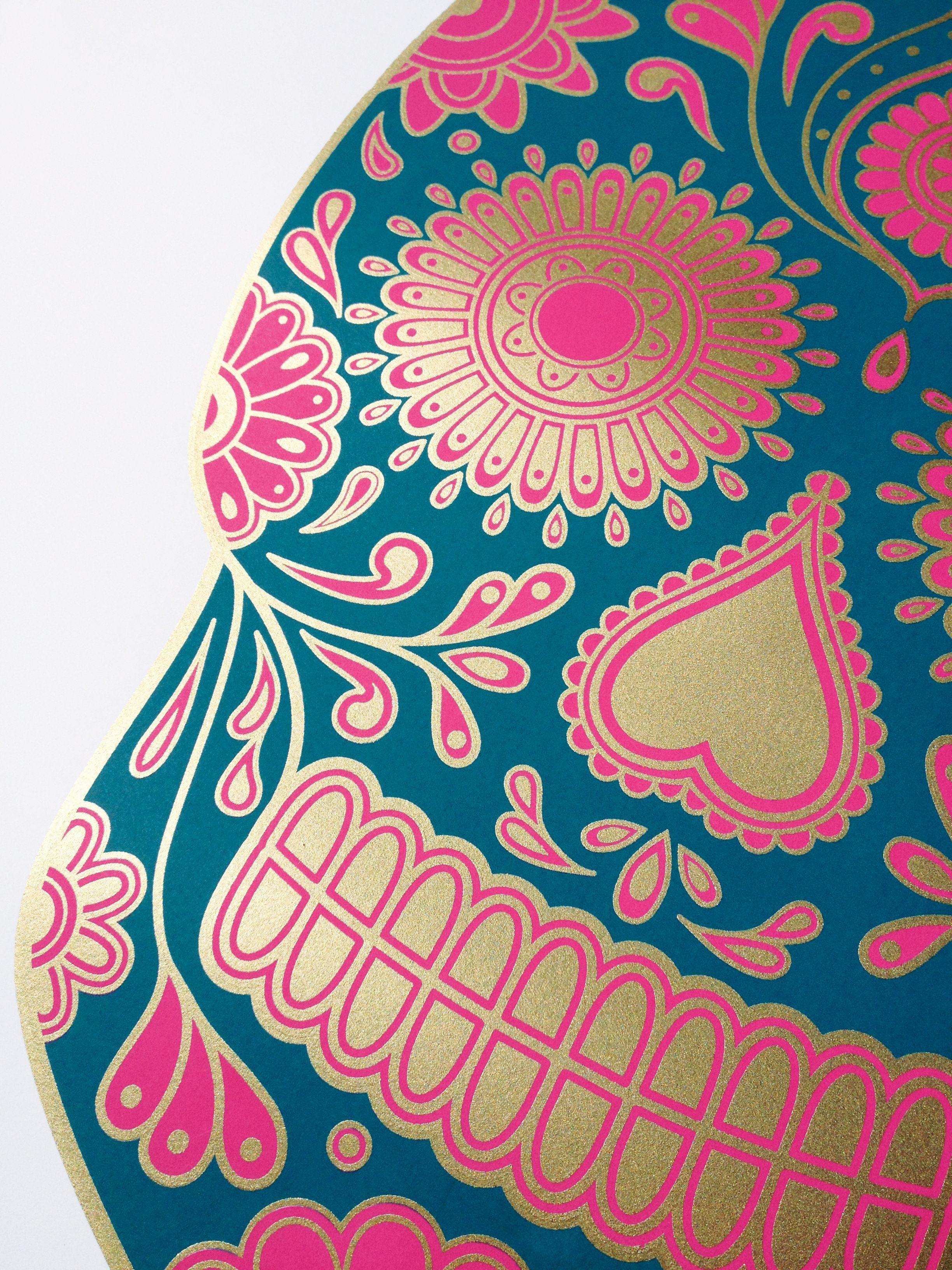 Sugar skull wallpapers wallpaper cave - Sugar skull background ...
