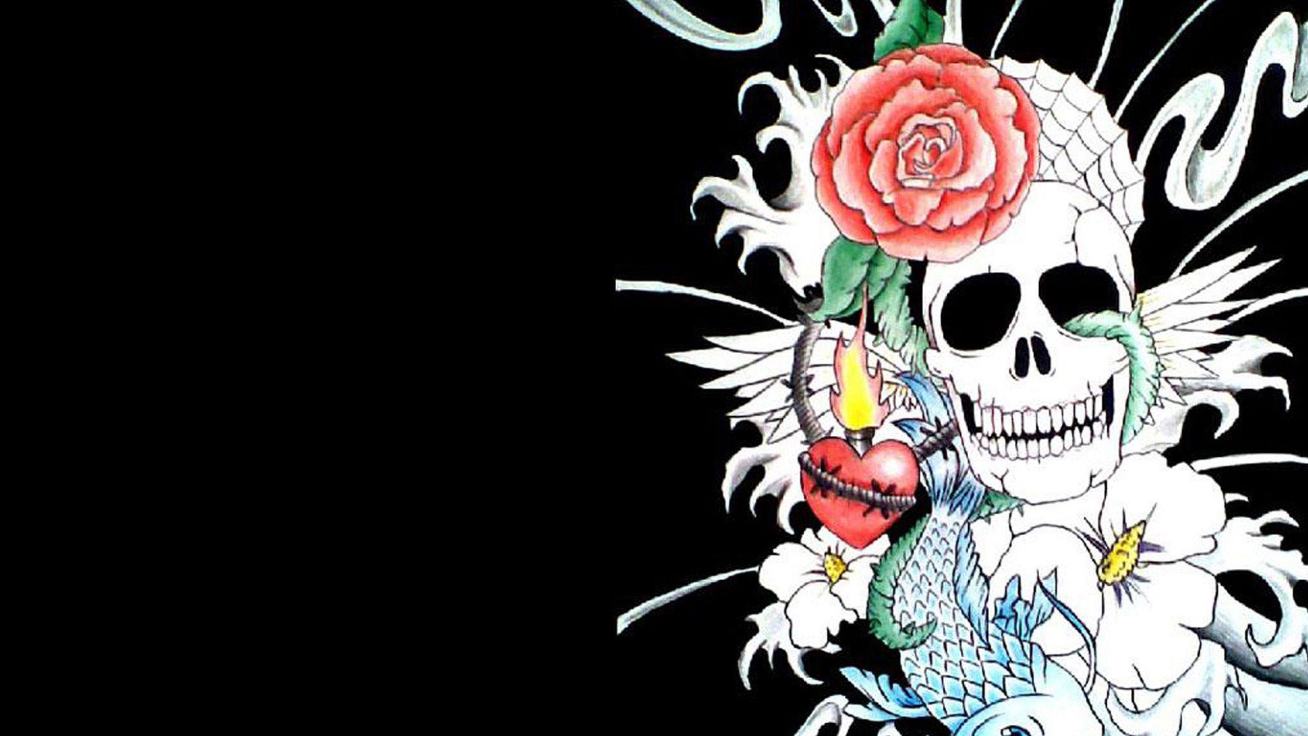 wallpapers skull desktop - photo #23