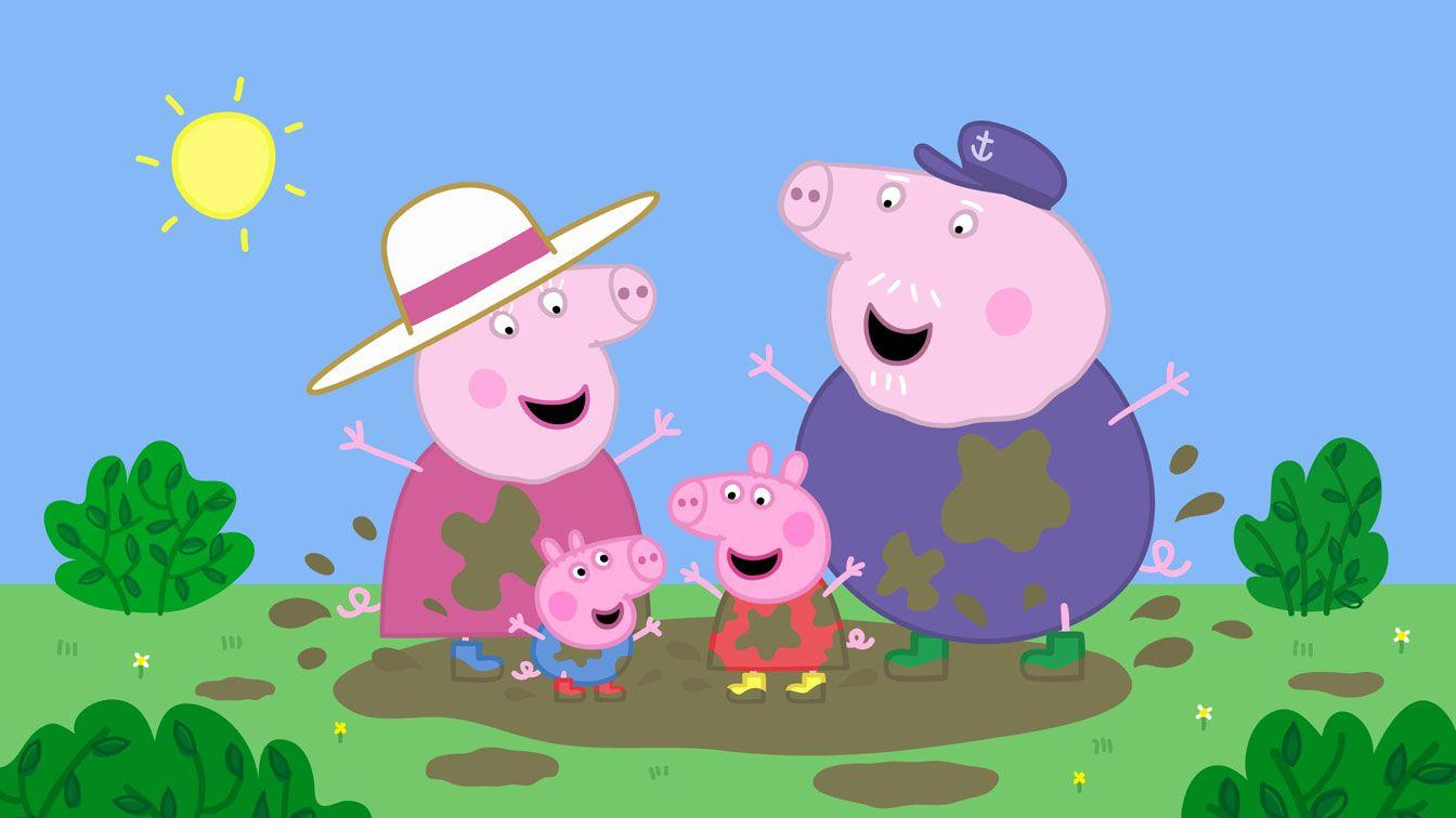 Peppa Pig Family Wallpapers - Wallpaper Cave