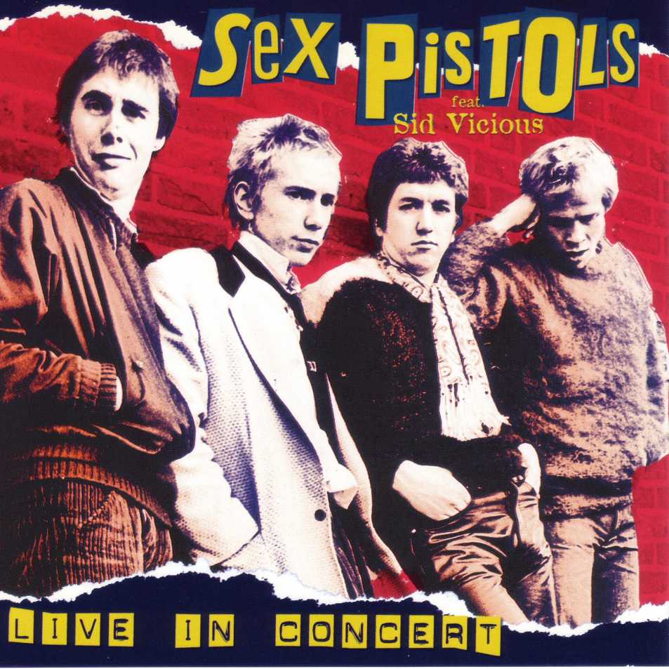 Sex pistols god save the queen framed album cover