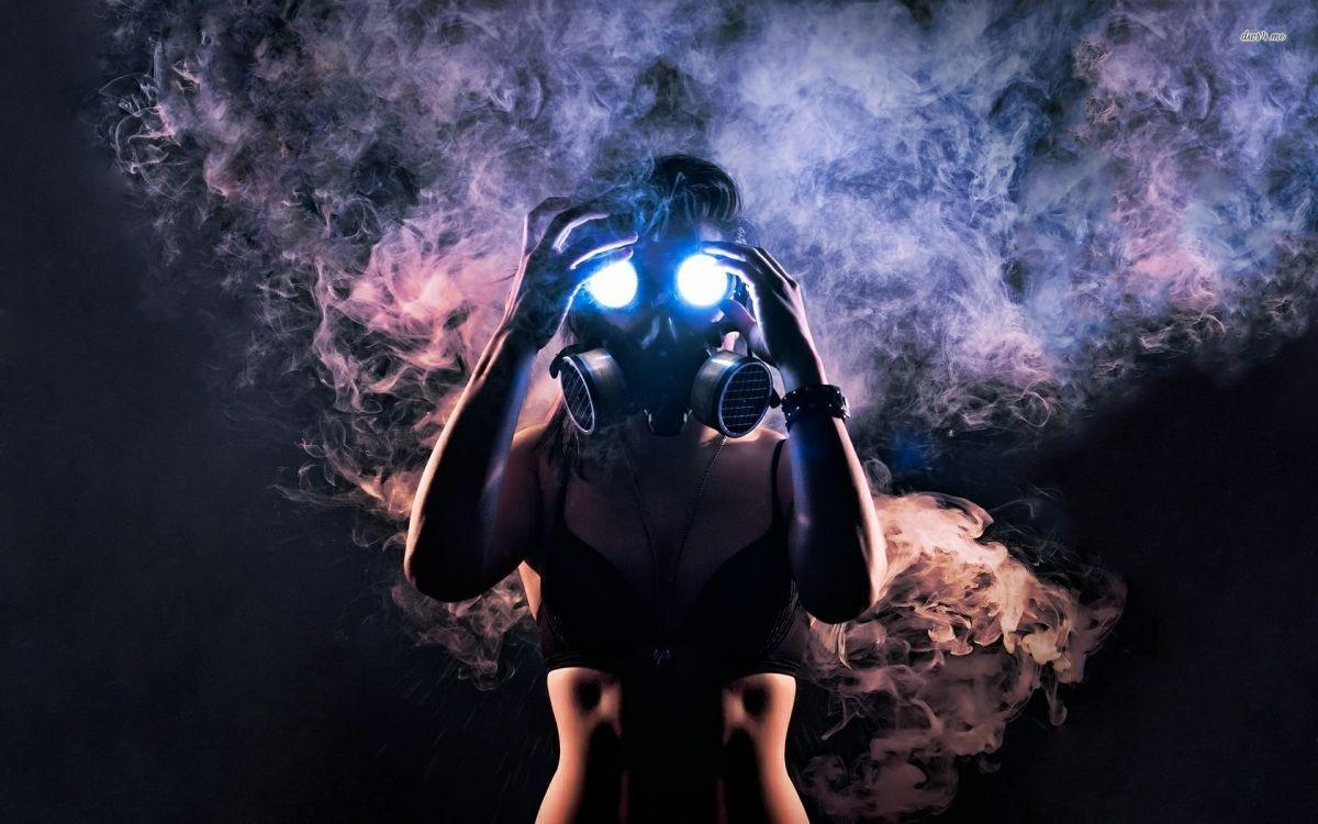 trippy gas mask wallpapers hd - photo #6