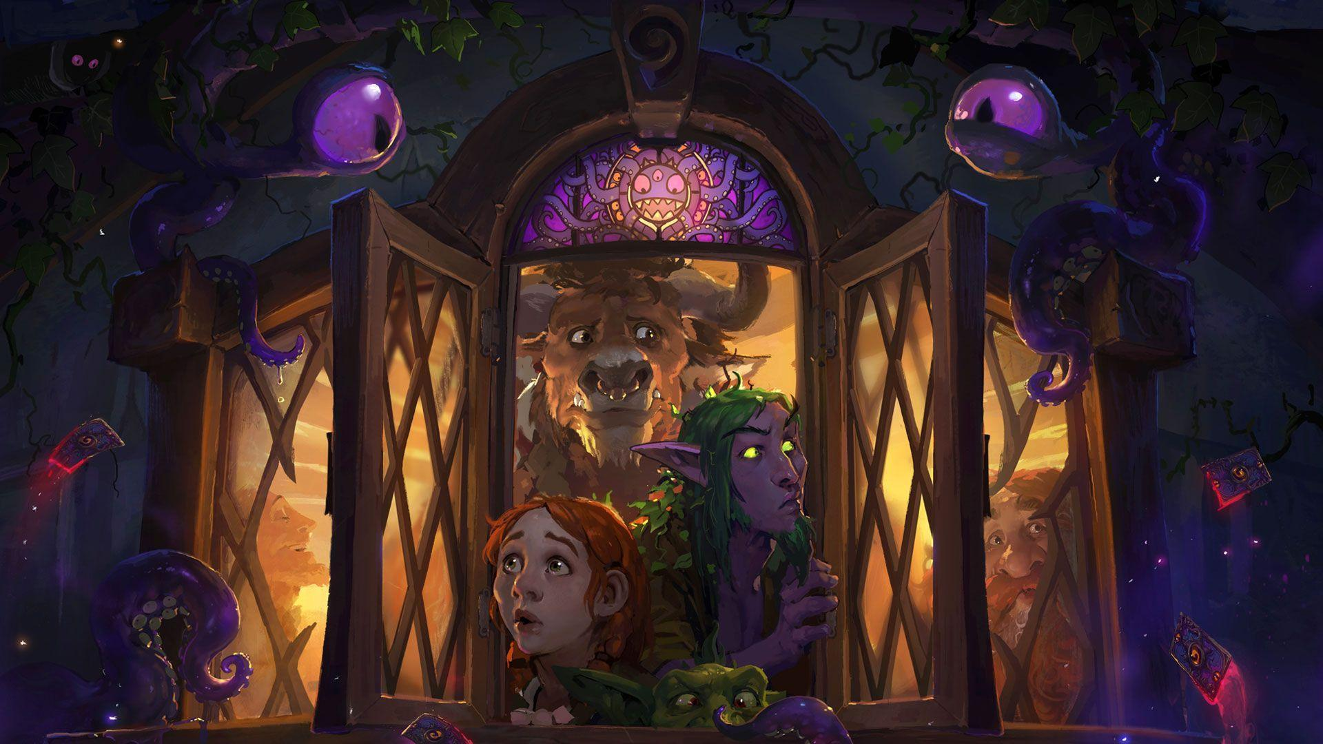 Whispers Of The Old Gods Hearthstone Wallpapers For Desktop And