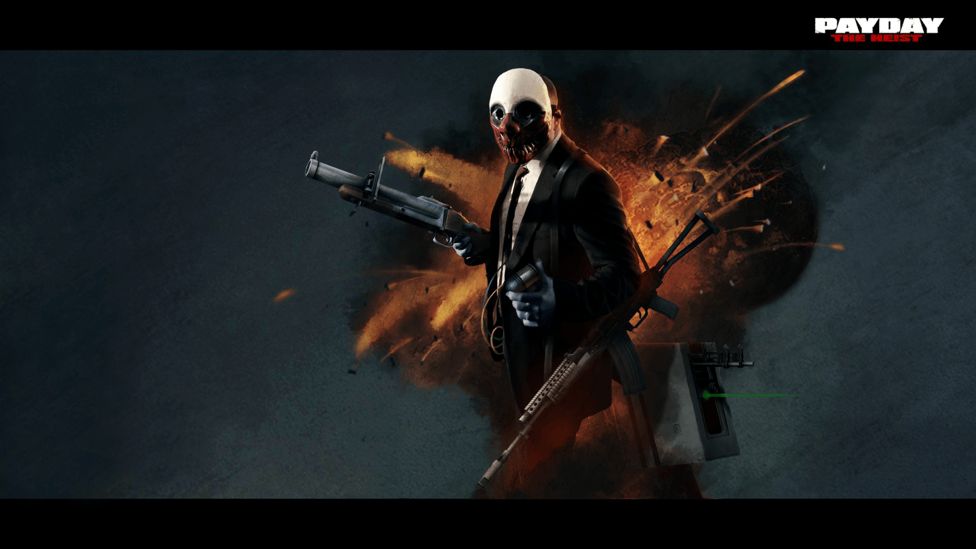 payday the heist wallpapers wallpaper cave