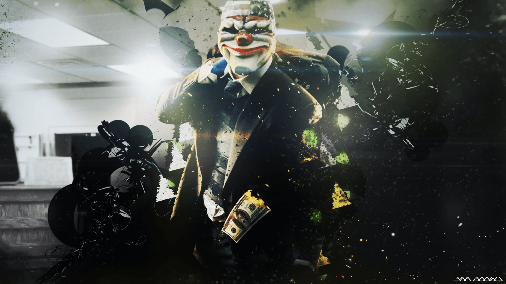 payday 2 wallpapers wallpaper cave