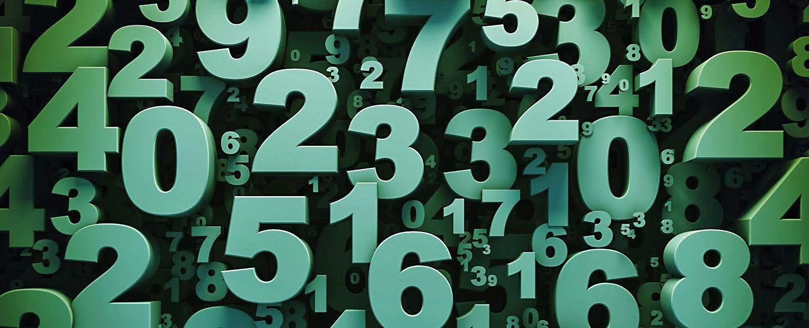 Numbers Wallpapers Wallpaper Cave