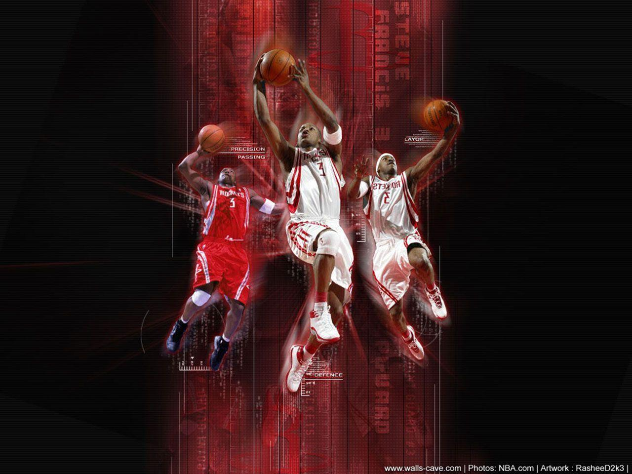 Steve Francis Houston Rockets Wallpapers