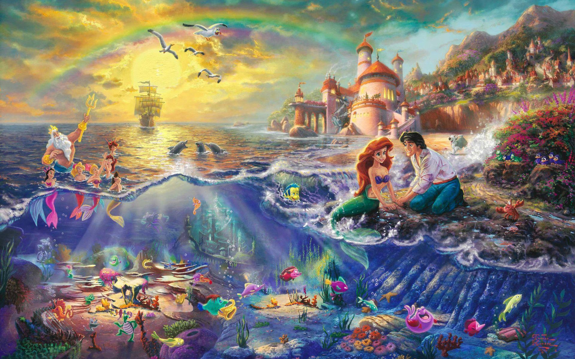 Little Mermaid Wallpapers Wallpaper Cave