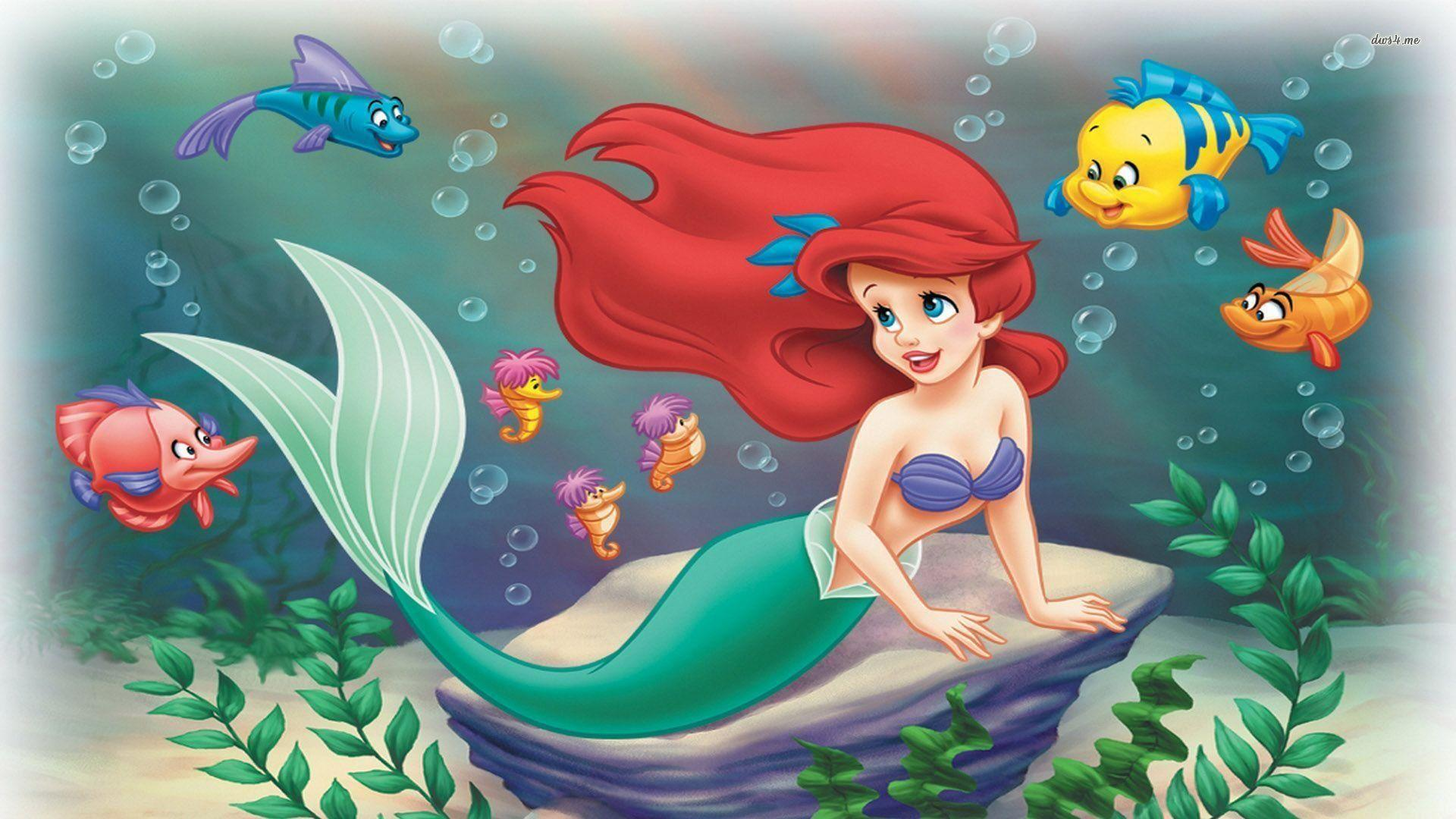 The Little Mermaid Wallpapers - Wallpaper Cave - photo#41