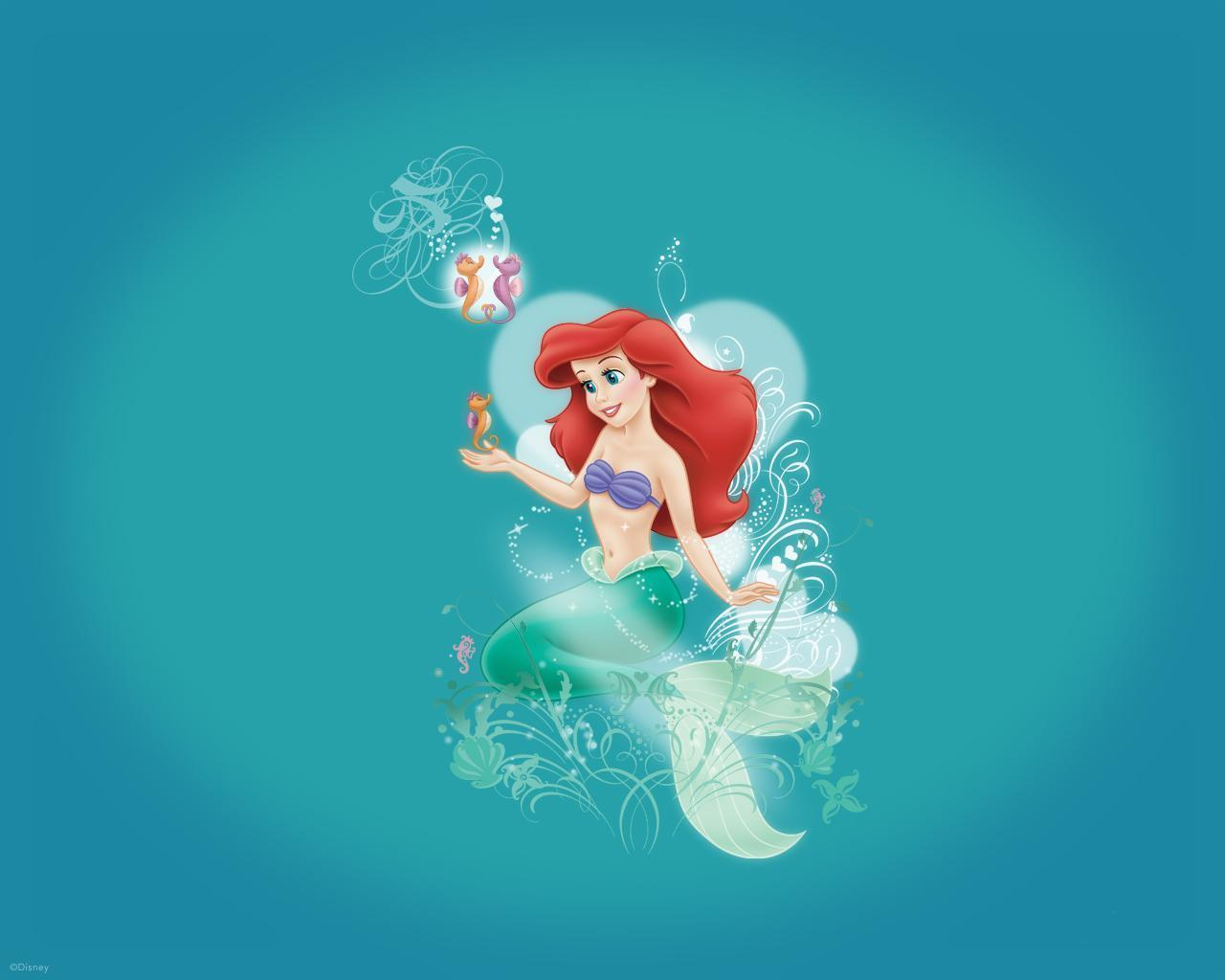 The Little Mermaid Wallpapers - Wallpaper Cave
