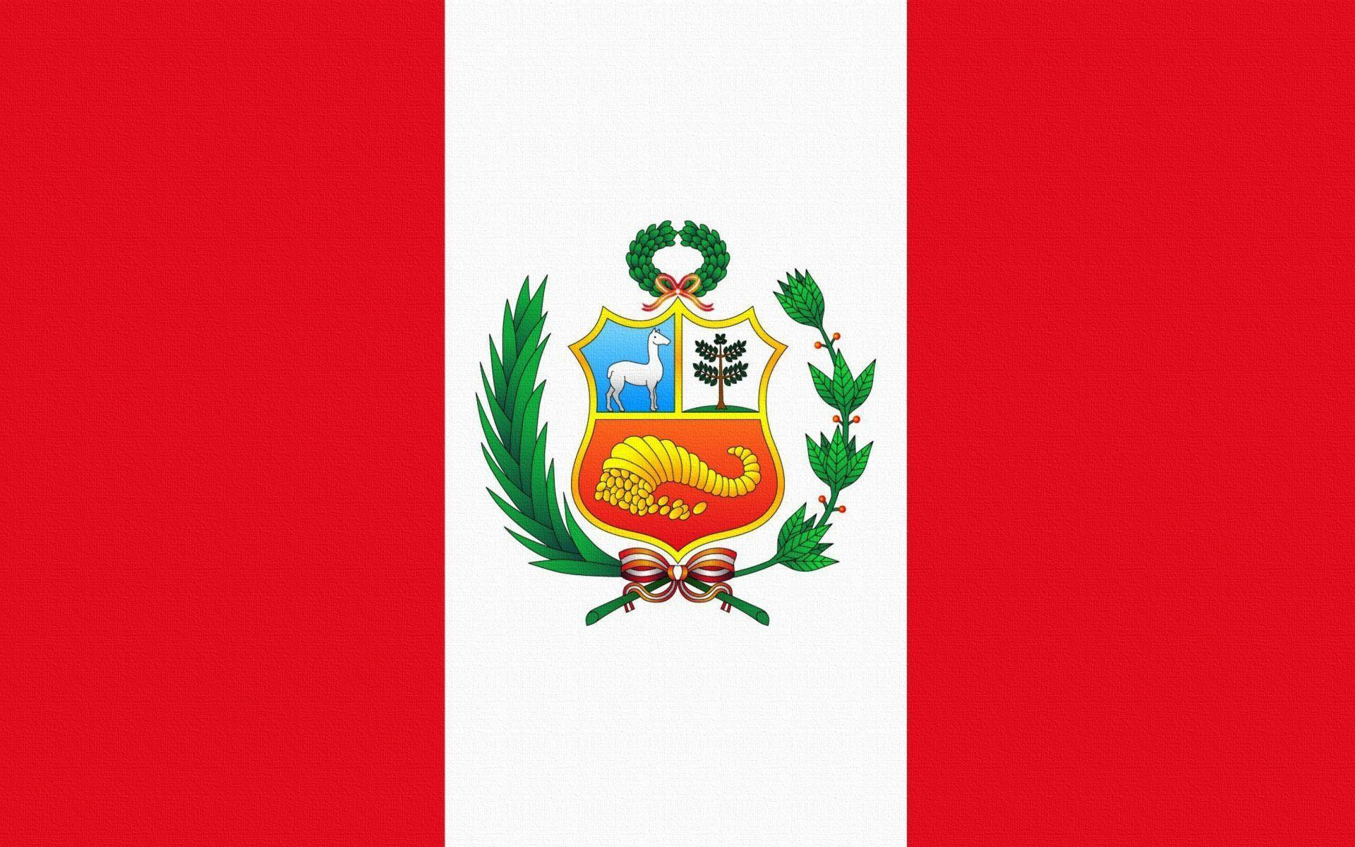 Flag Of Peru Wallpapers for Widescreen Desktop PC 1920x1080 Full HD
