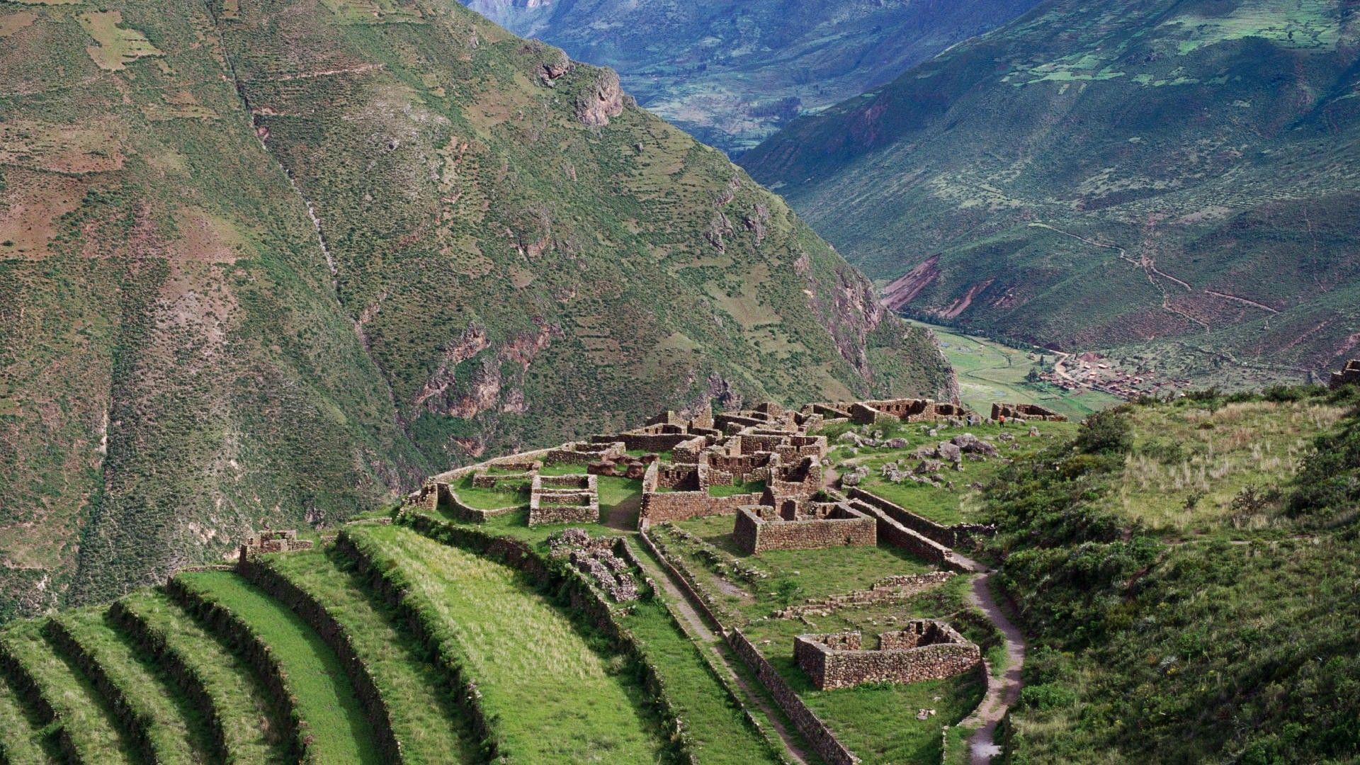 Ancient mountains in peru wallpapers and image