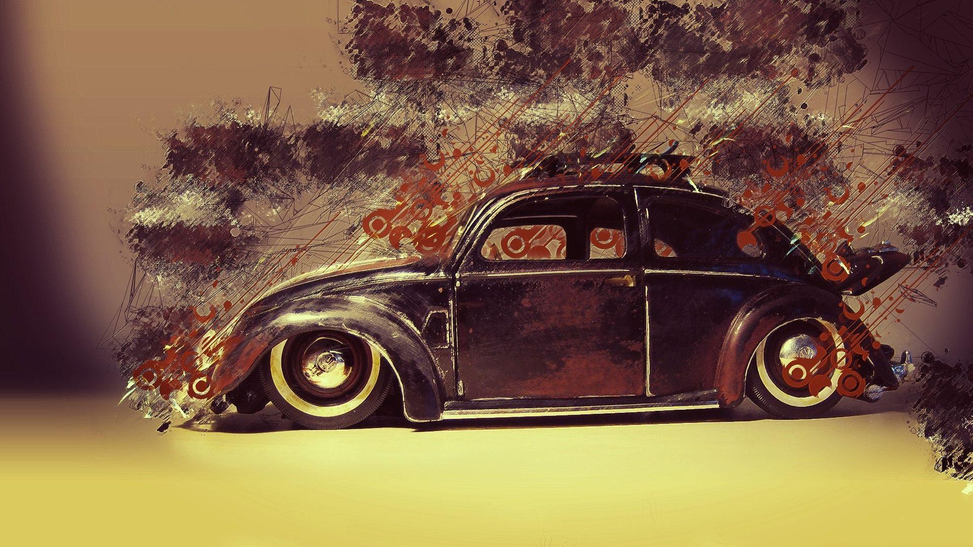 Cool VW Beetle Classic Wallpapers Wallpapers Themes