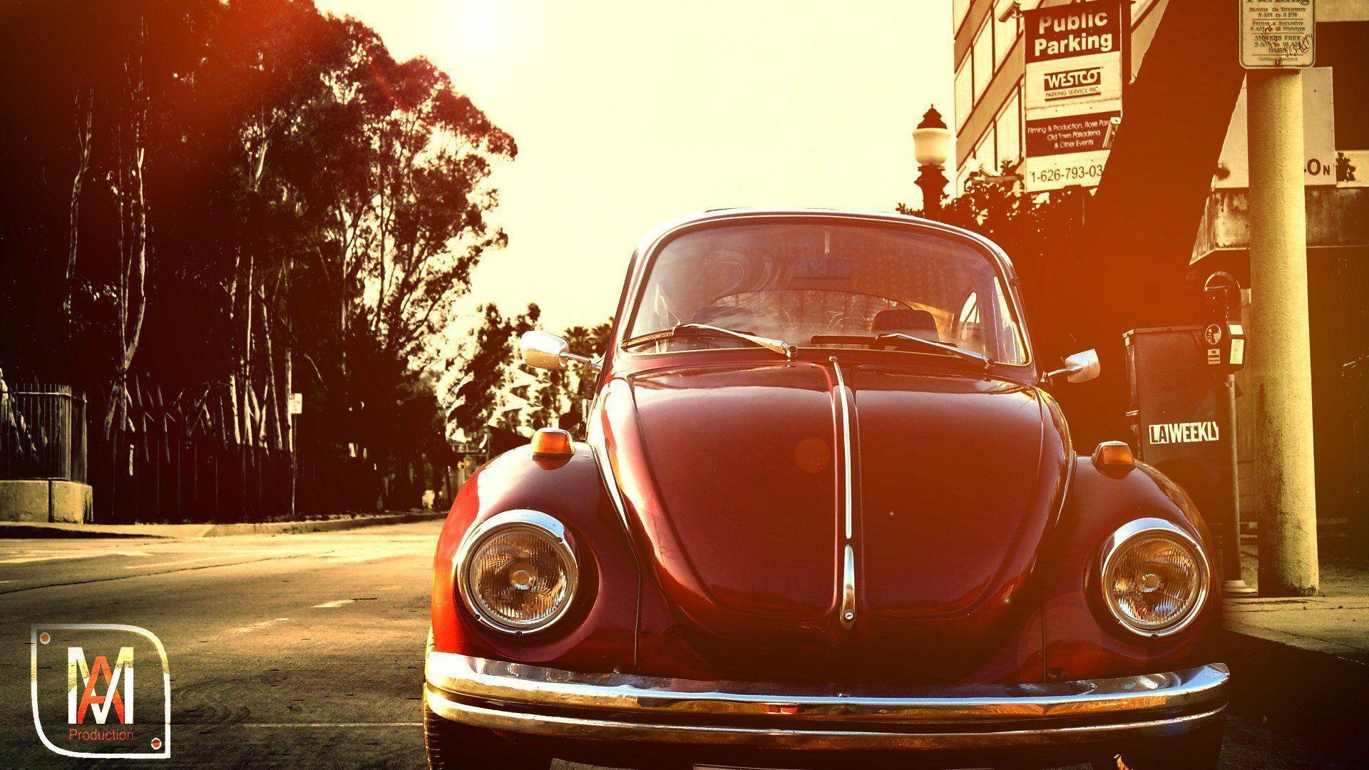 Volkswagen Beetle Retro wallpapers – wallpapers free download