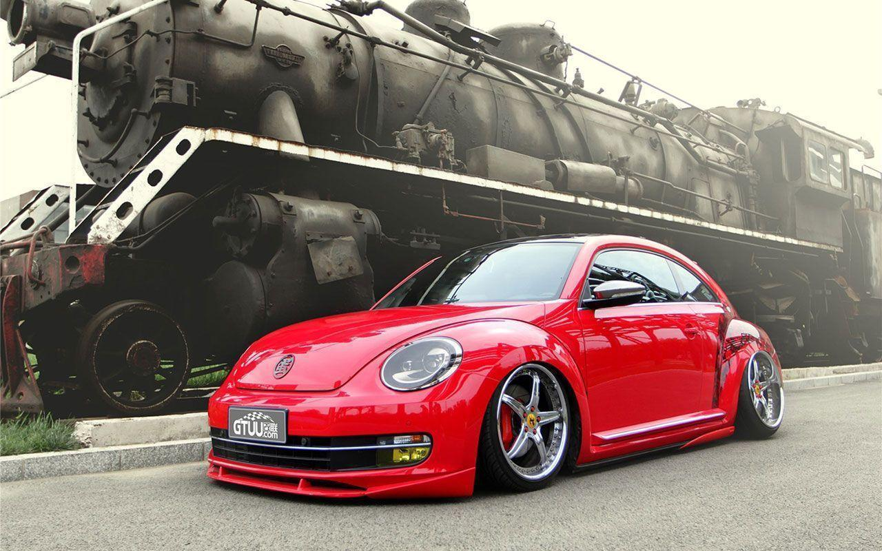 Red Volkswagen Beetle Wallpapers 7 - Auto Wallpapers