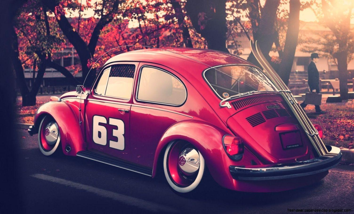 Vw Volkswagen Beetle Bug Hd Wallpapers