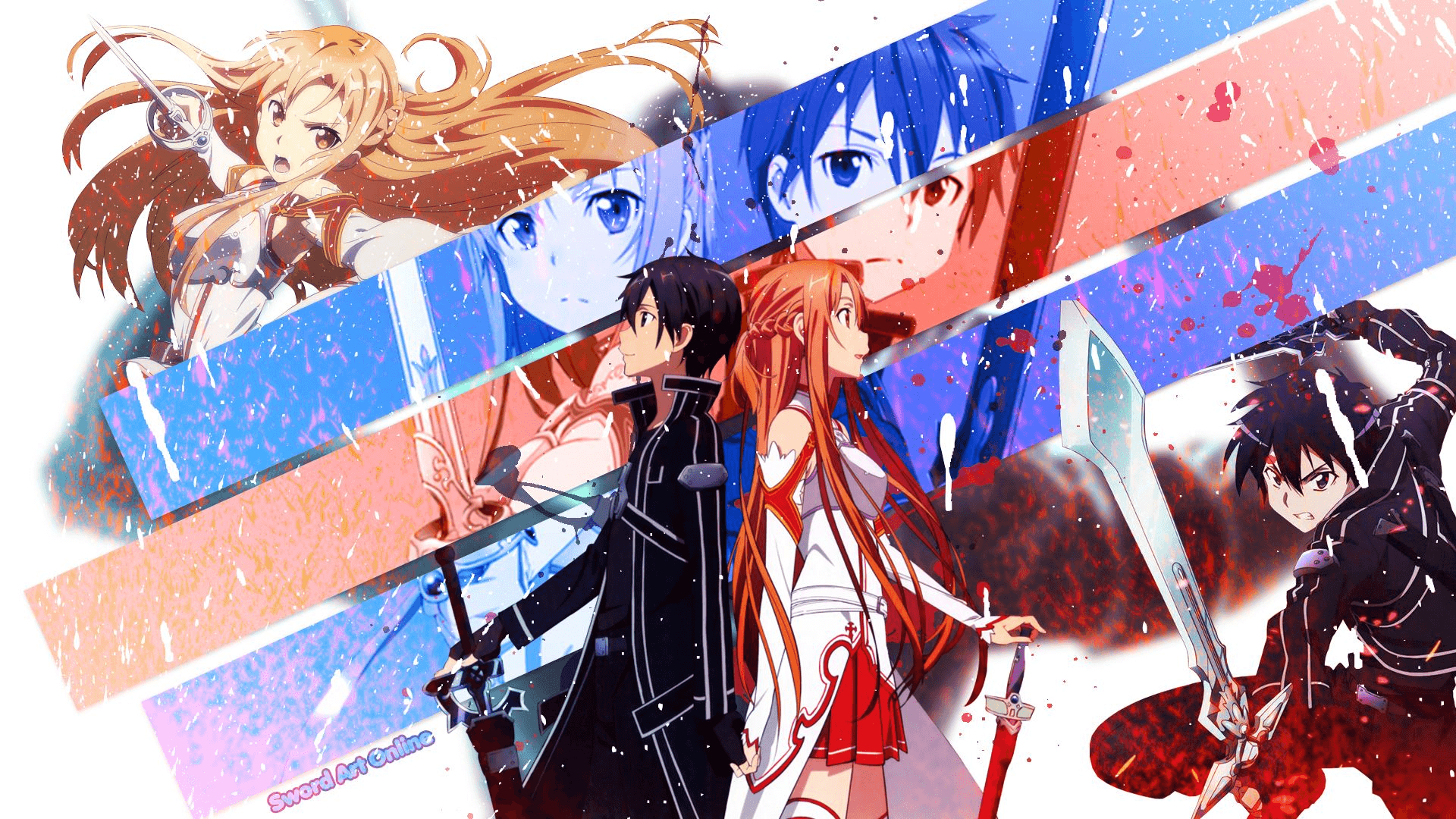 Kirito and Asuna Wallpapers