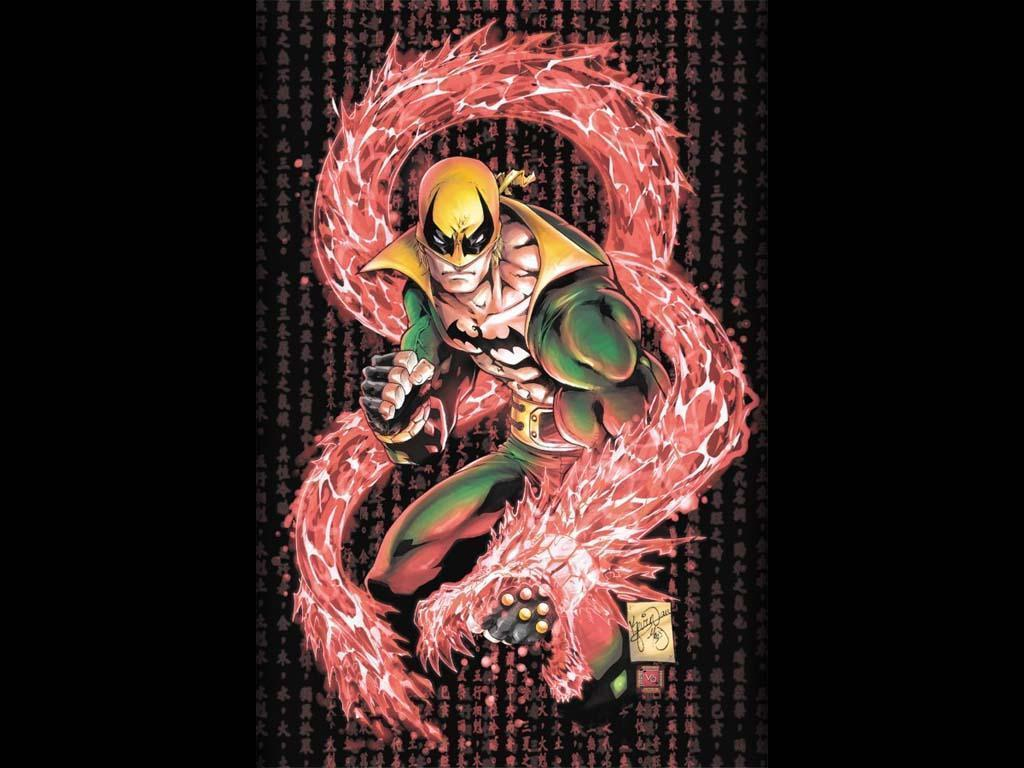 My Free Wallpapers - Comics Wallpaper : Iron Fist