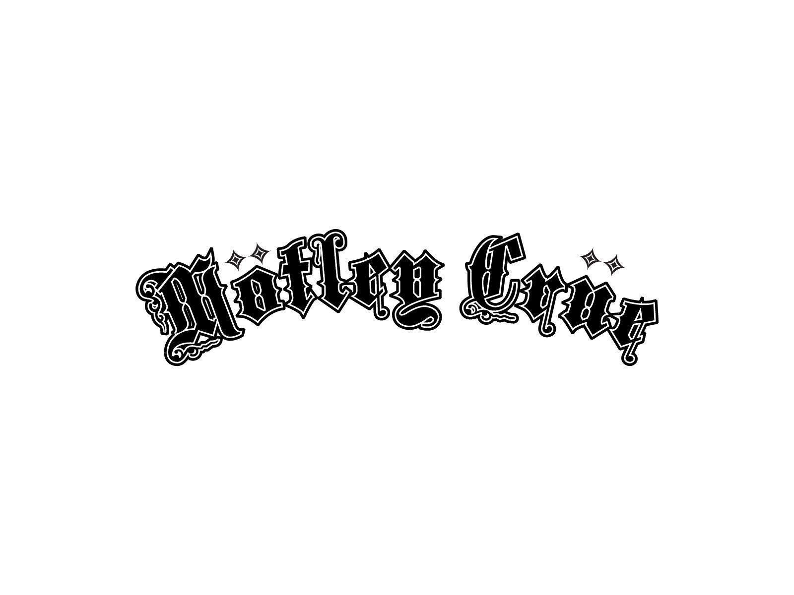 Motley Crue logo and wallpapers