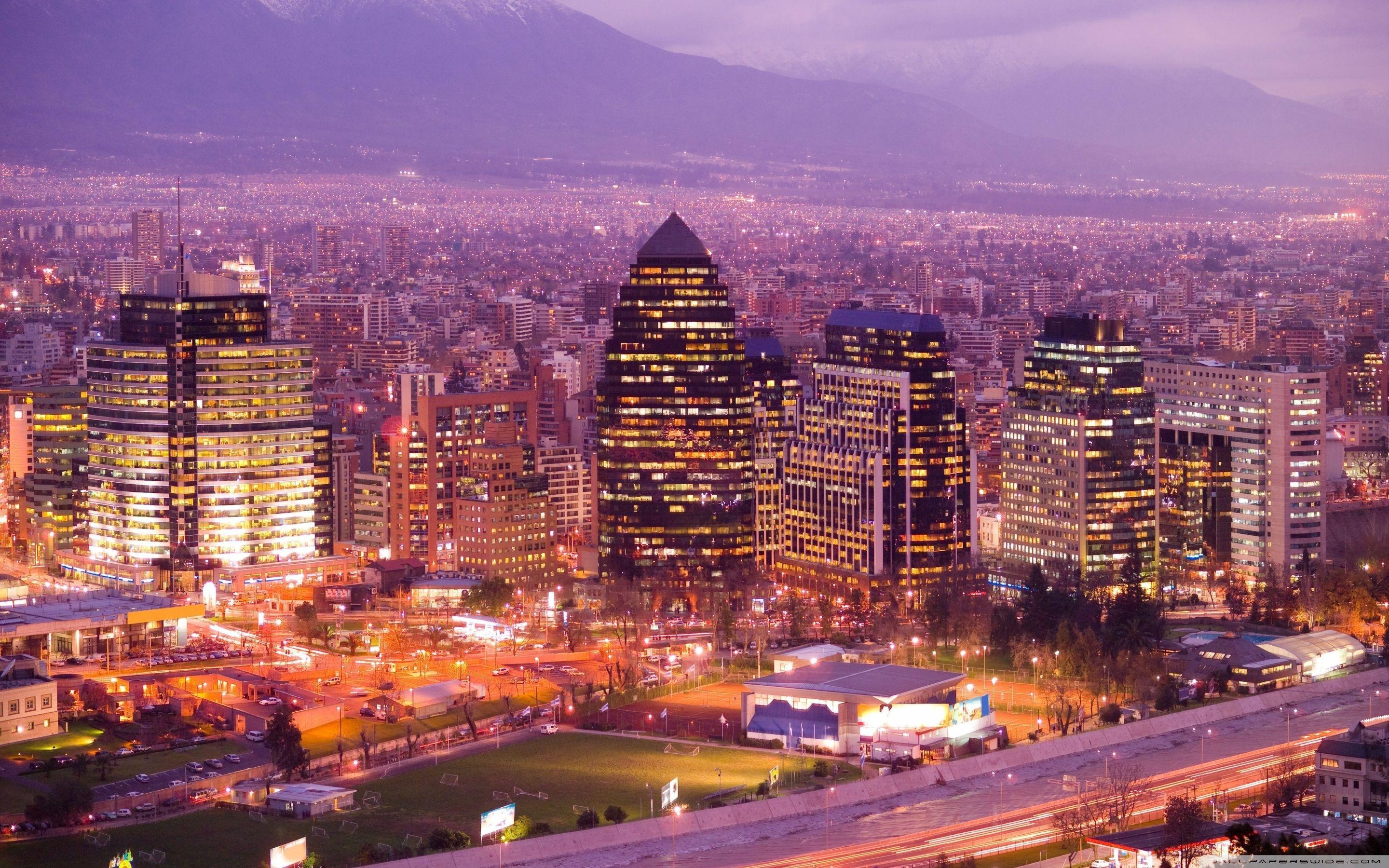 Santiago De Chile ❤ 4K HD Desktop Wallpaper for • Dual Monitor ...