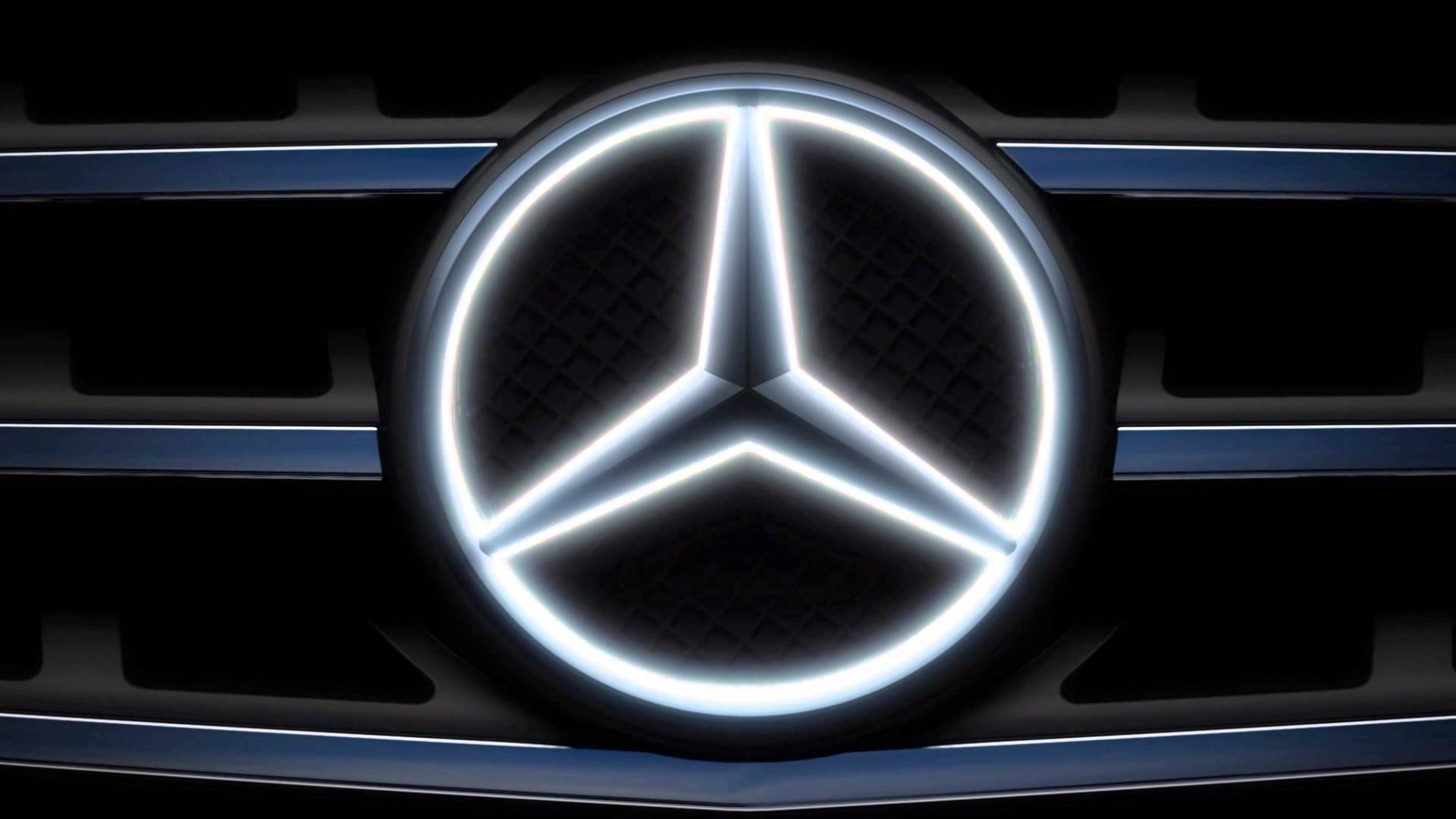 Mercedes logo wallpapers wallpaper cave for Mercedes benz symbol light
