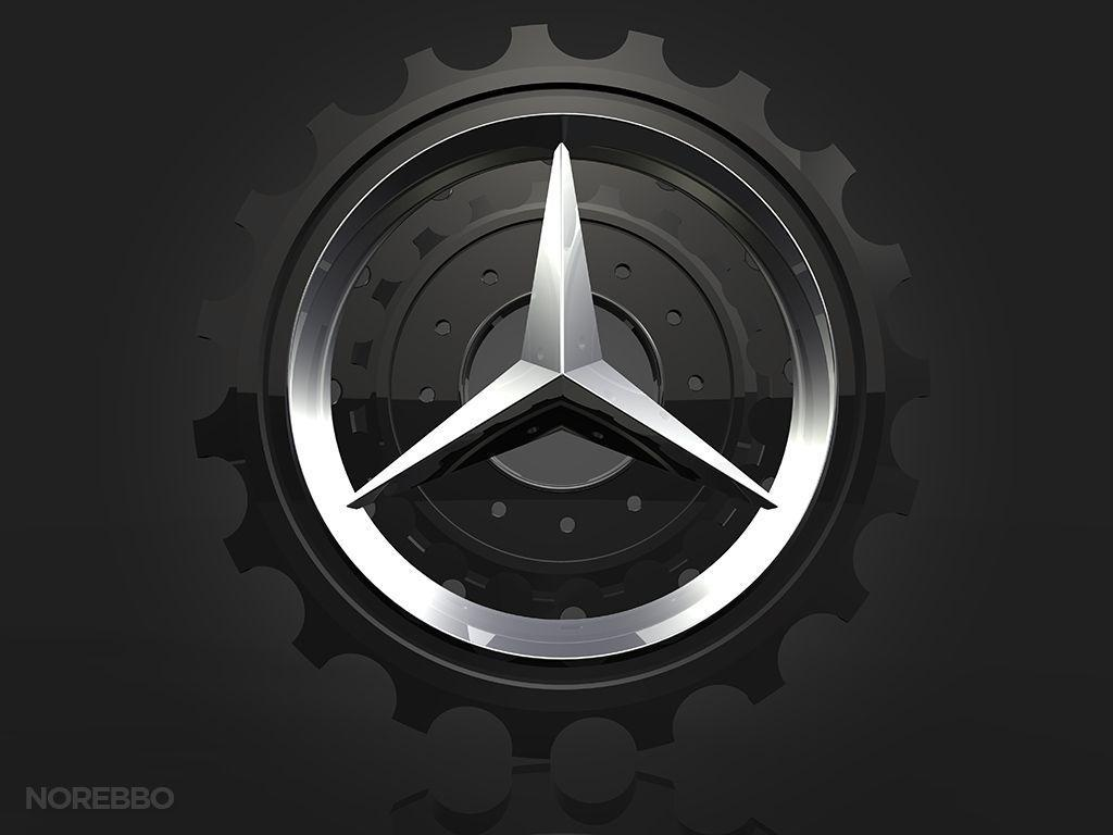 Mercedes Logo Wallpapers - Wallpaper Cave