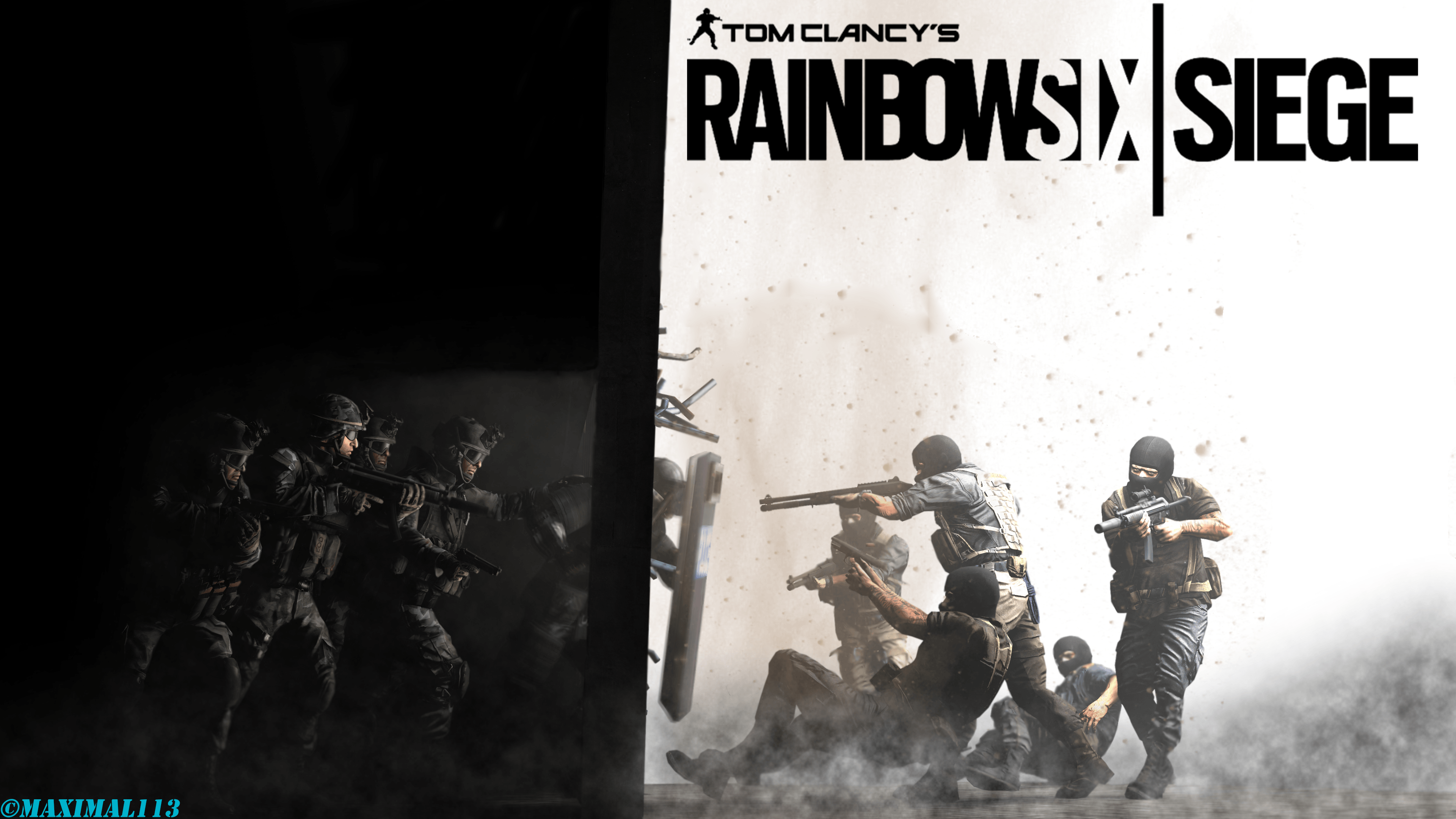 Tom Clancy's Rainbow Six Siege - wallpaper.
