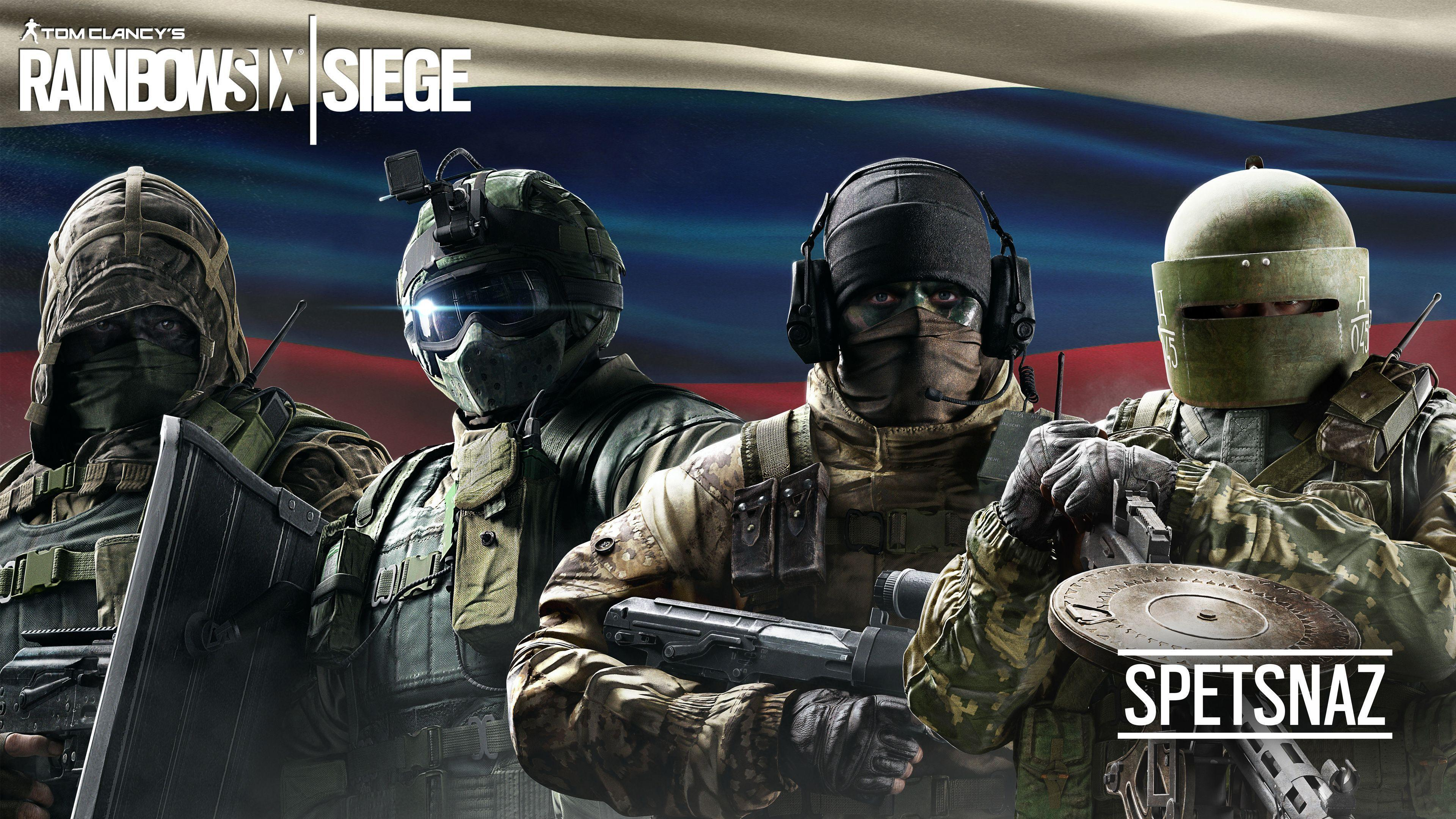 Tom Clancy's Rainbow Six Siege Spetsnaz Wallpapers | HD Wallpapers