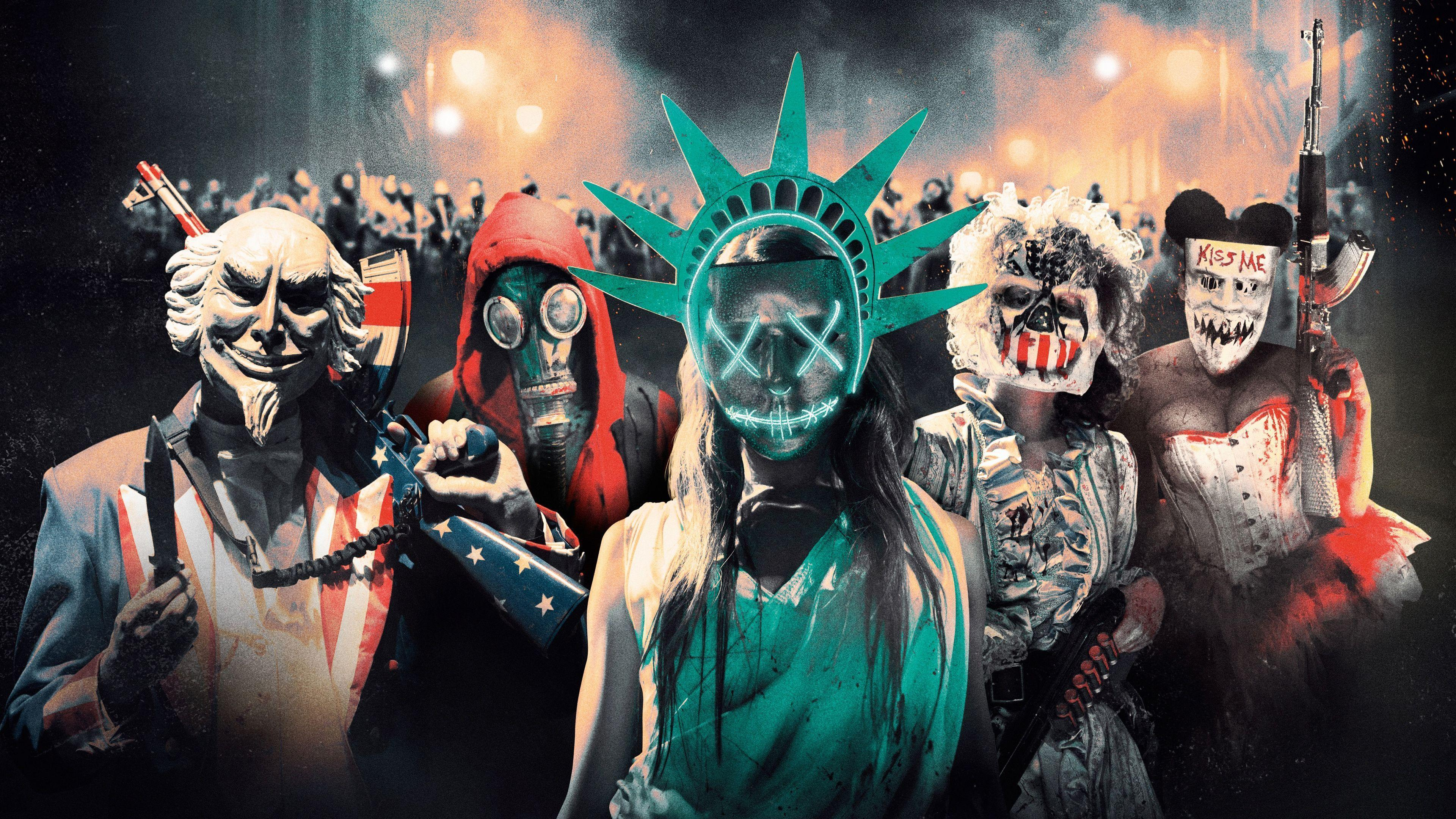 The Purge Wallpapers Wallpaper Cave