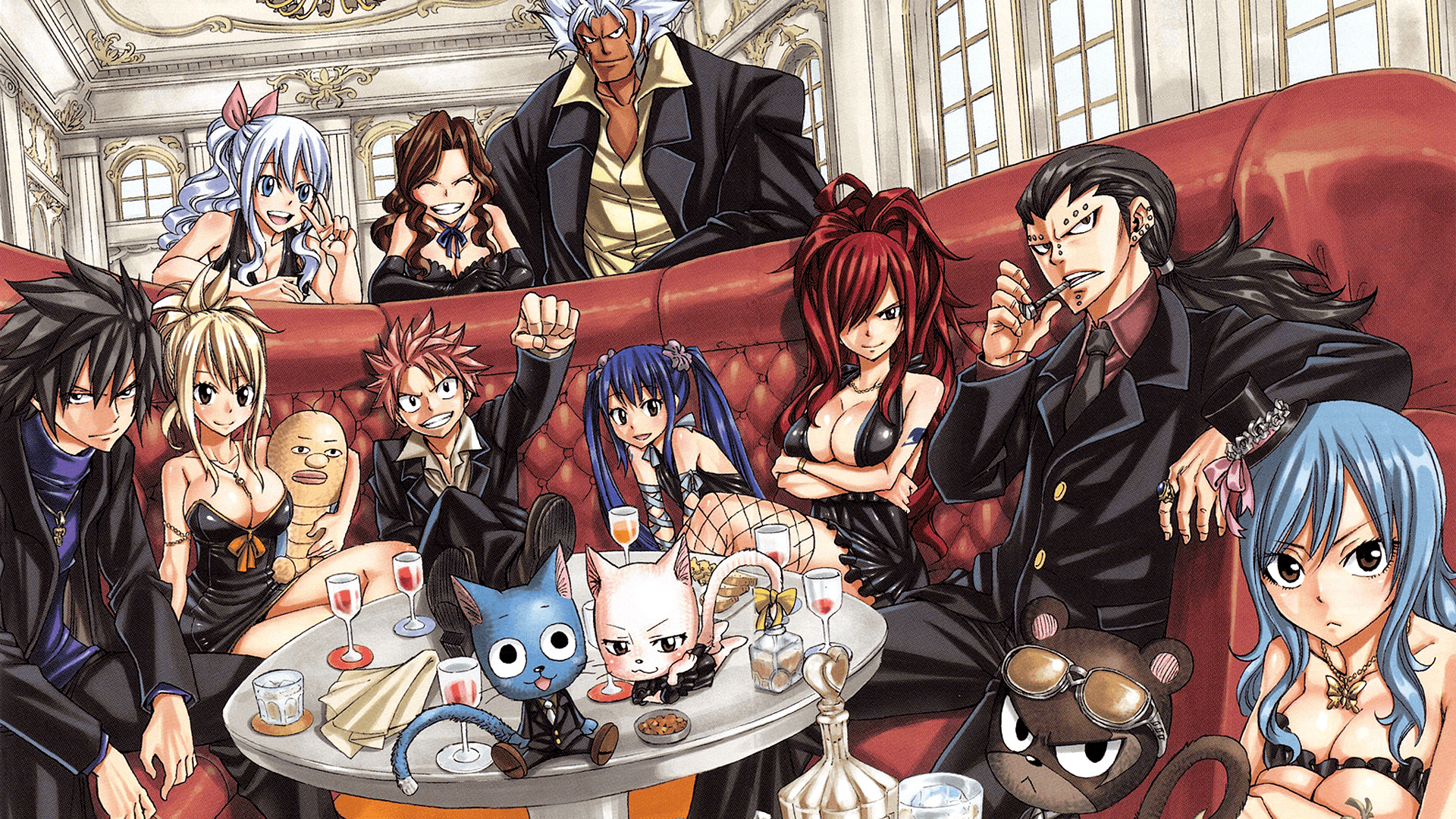 Fairy Tail family Full HD Wallpapers and Backgrounds