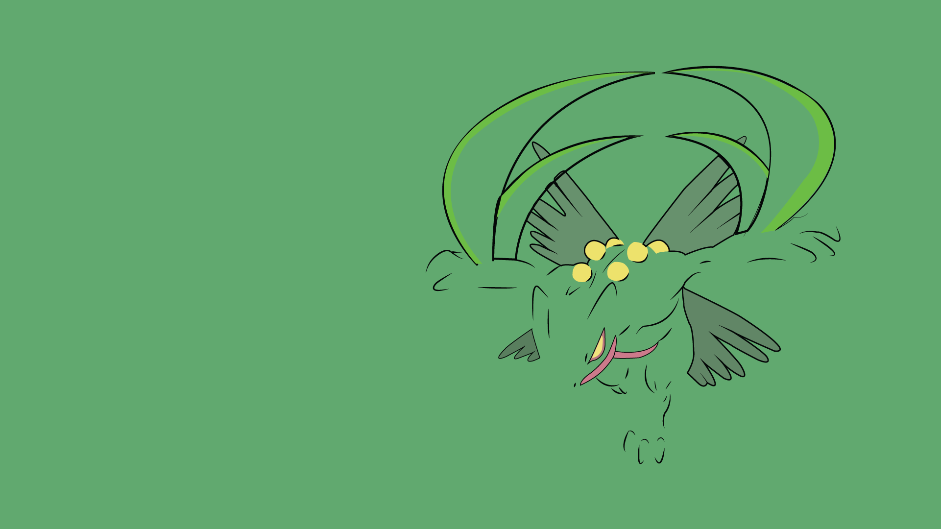 You all loved Blaziken, so here is Sceptile! : pokemon
