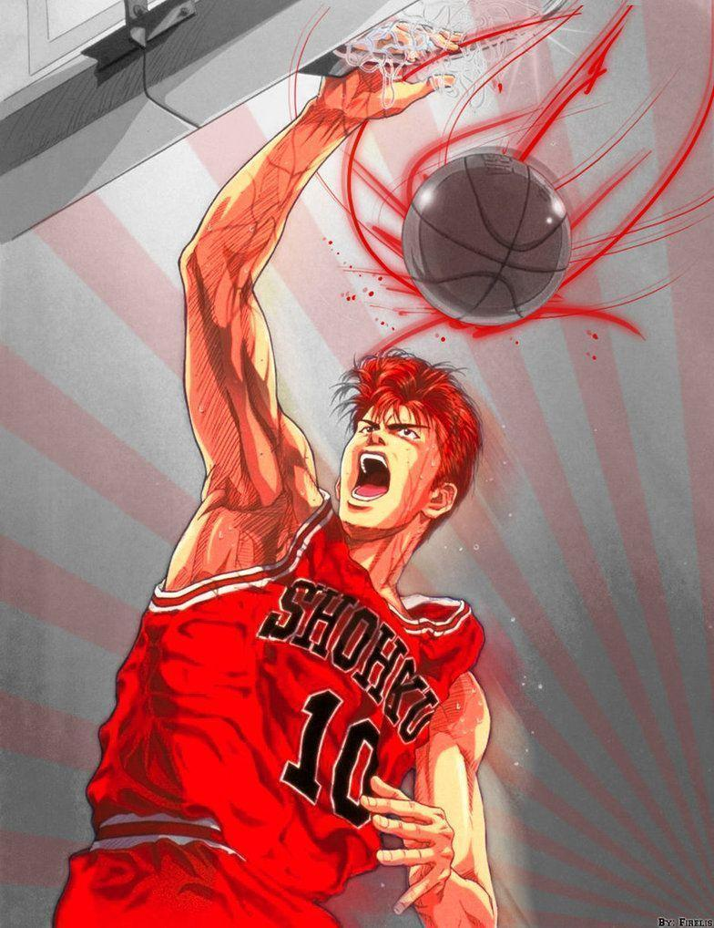 hanamichi sakuragi wallpapers wallpaper cave