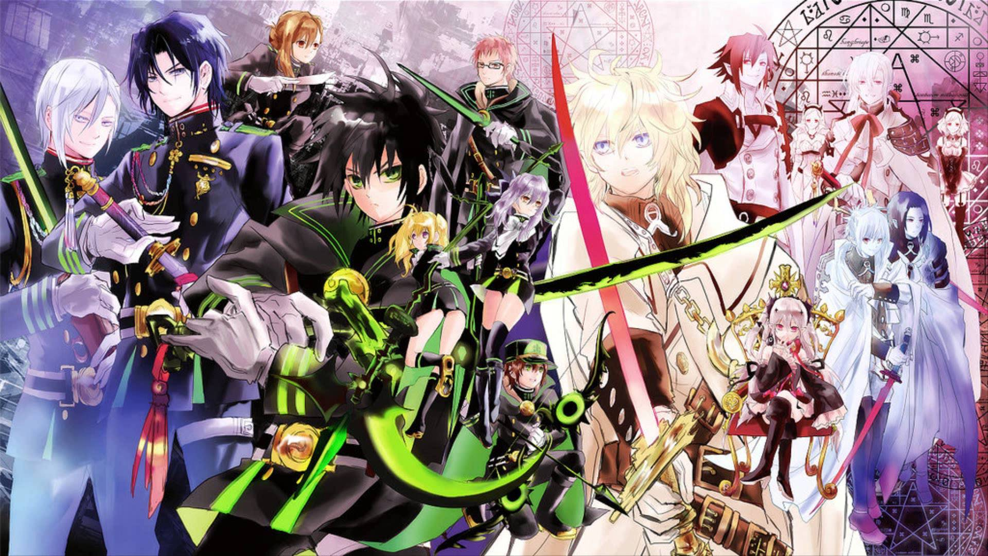 Anime Wallpapers Owari no Seraph HD 4K Download For Mobile iPhone & PC