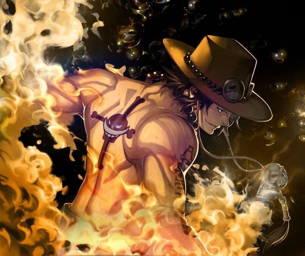 Portgas D. Ace, One Piece, Fire, Whitebeard, Pirates Wallpapers HD ...