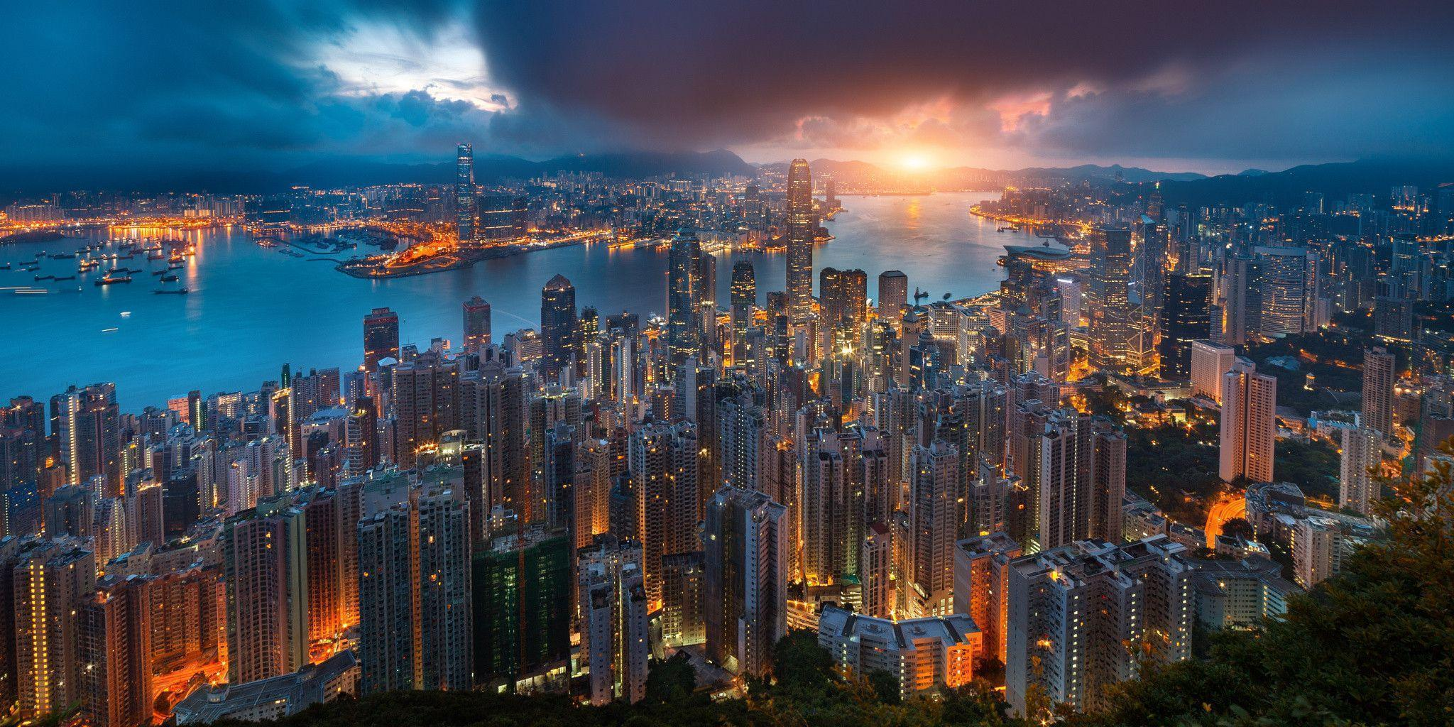Early morning in Hong Kong : wallpapers