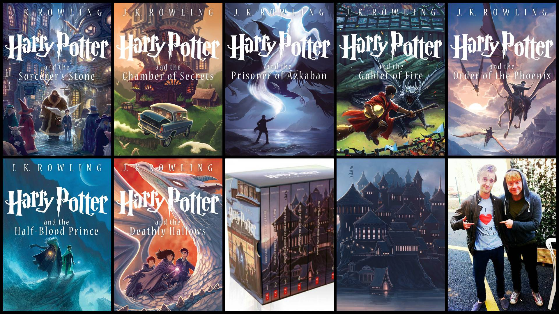 Wallpapers made from the new book covers! : harrypotter