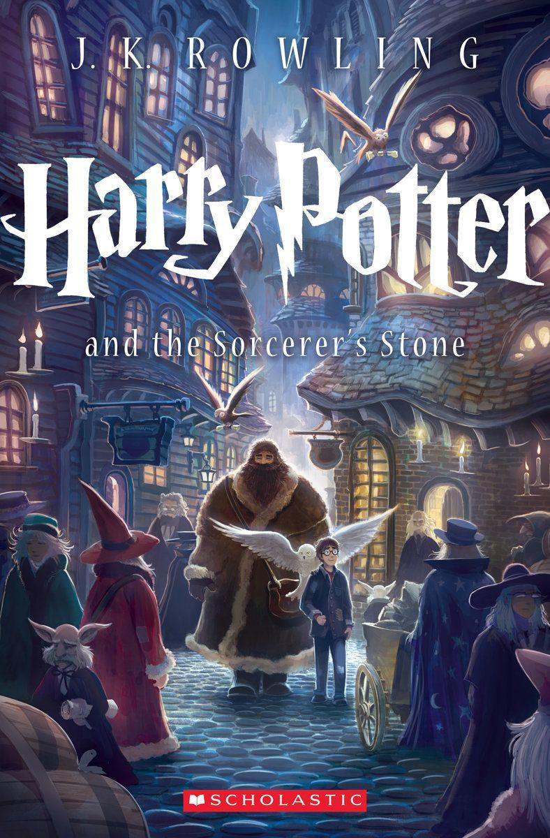 Harry Potter Full Book Covers