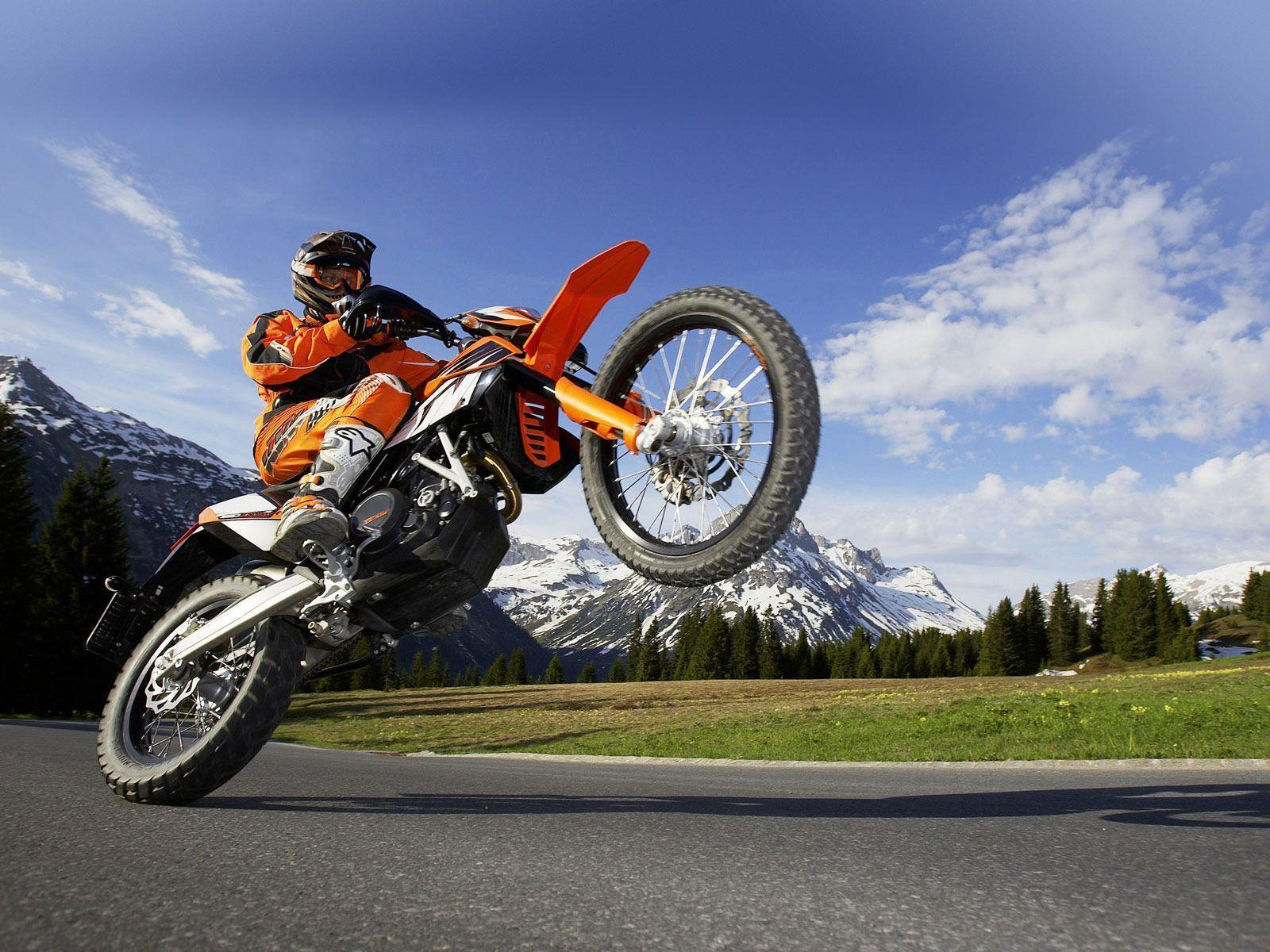 KTM Supermoto Action Wallpapers For Android Wallpapers