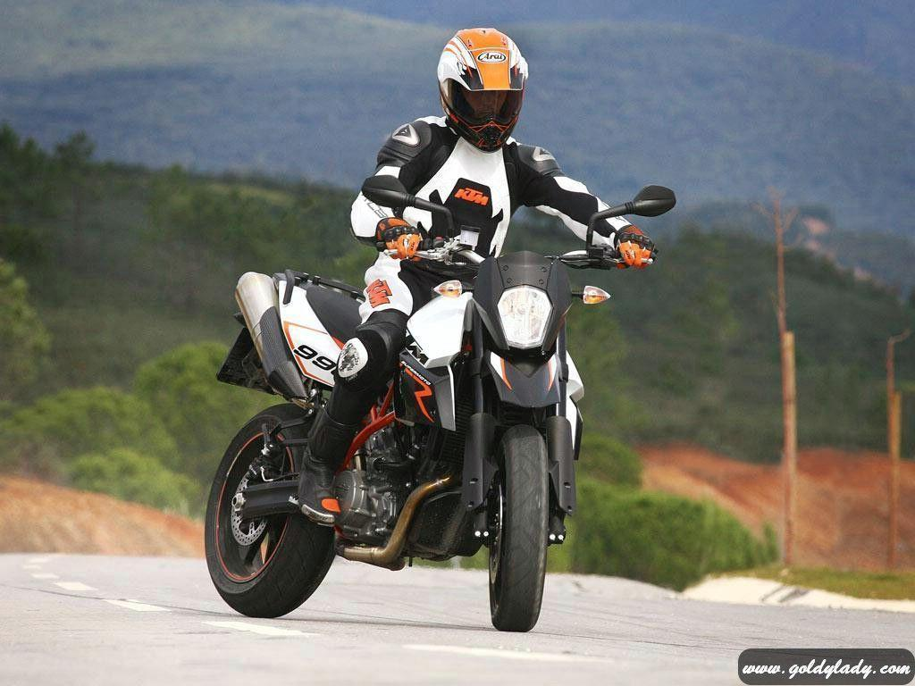 Wallpapers Ktm Supermoto T X Motorcycle 1024x768