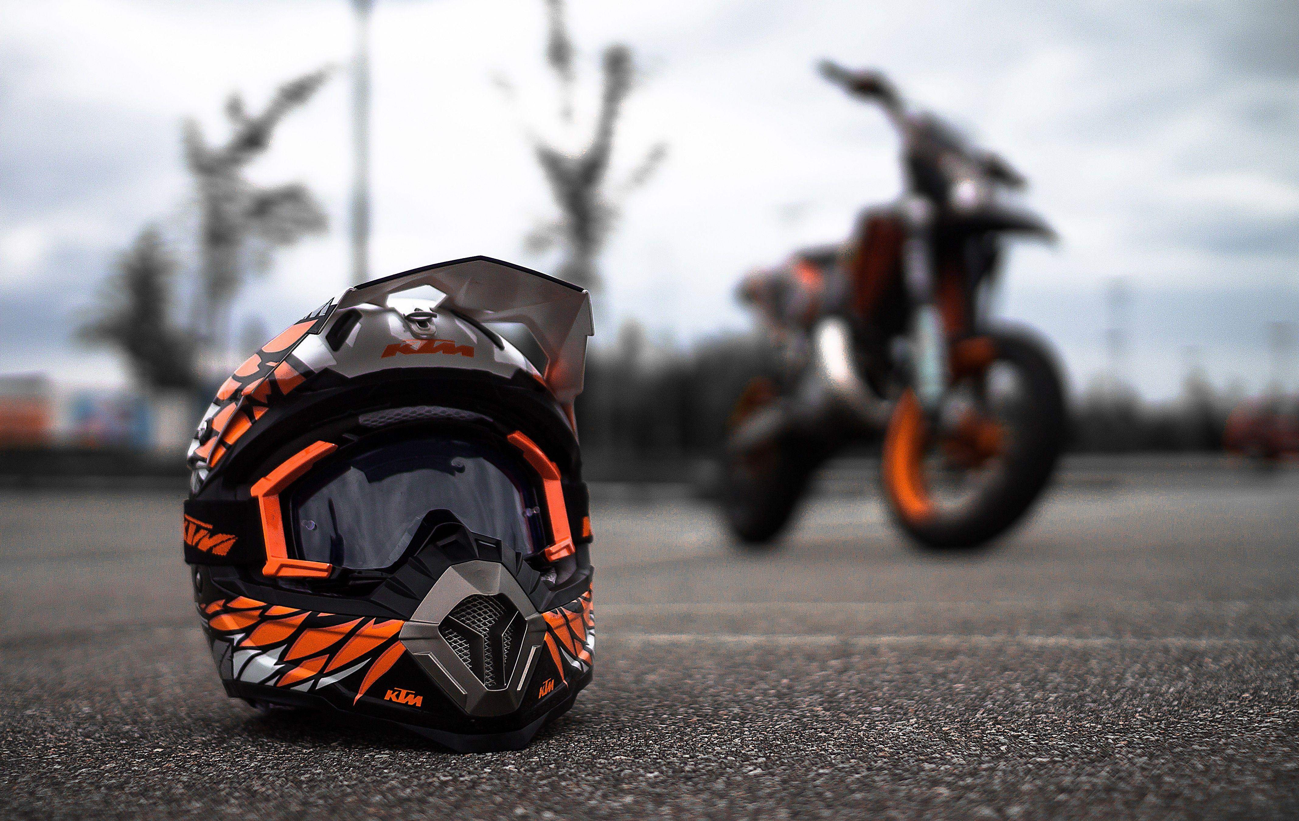 Download KTM Helmet HD Wallpapers In 240x320 Screen Resolution