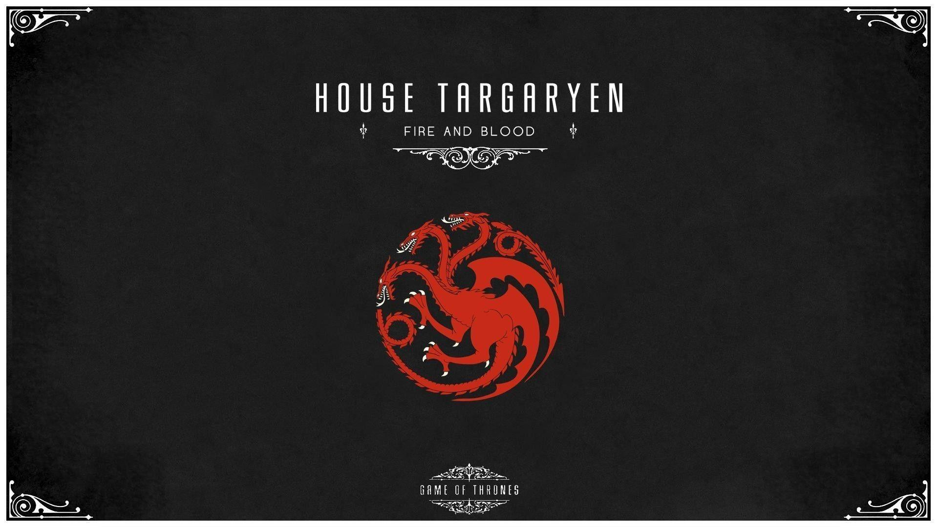 House Targaryen Wallpapers Wallpaper Cave