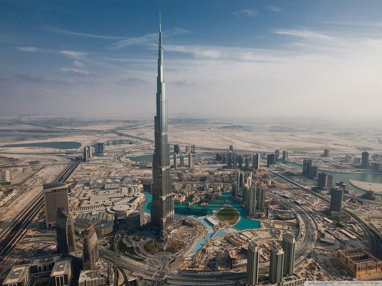 Burj Khalifa, Dubai, United Arab Emirates HD desktop wallpaper ...
