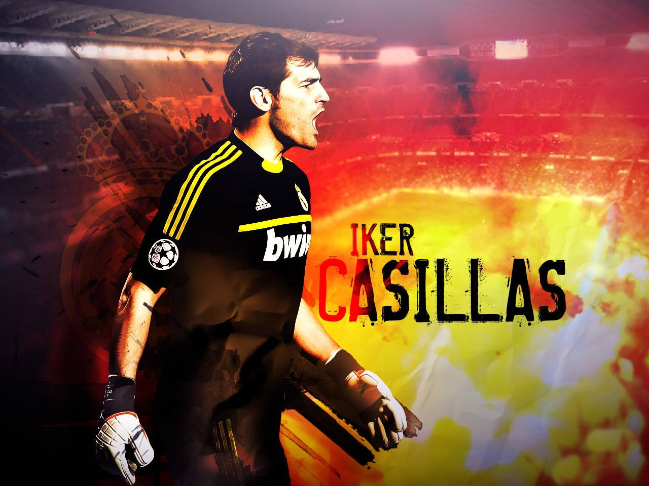 Iker Casillas Madrid Captain Wallpaper - Football HD Wallpapers